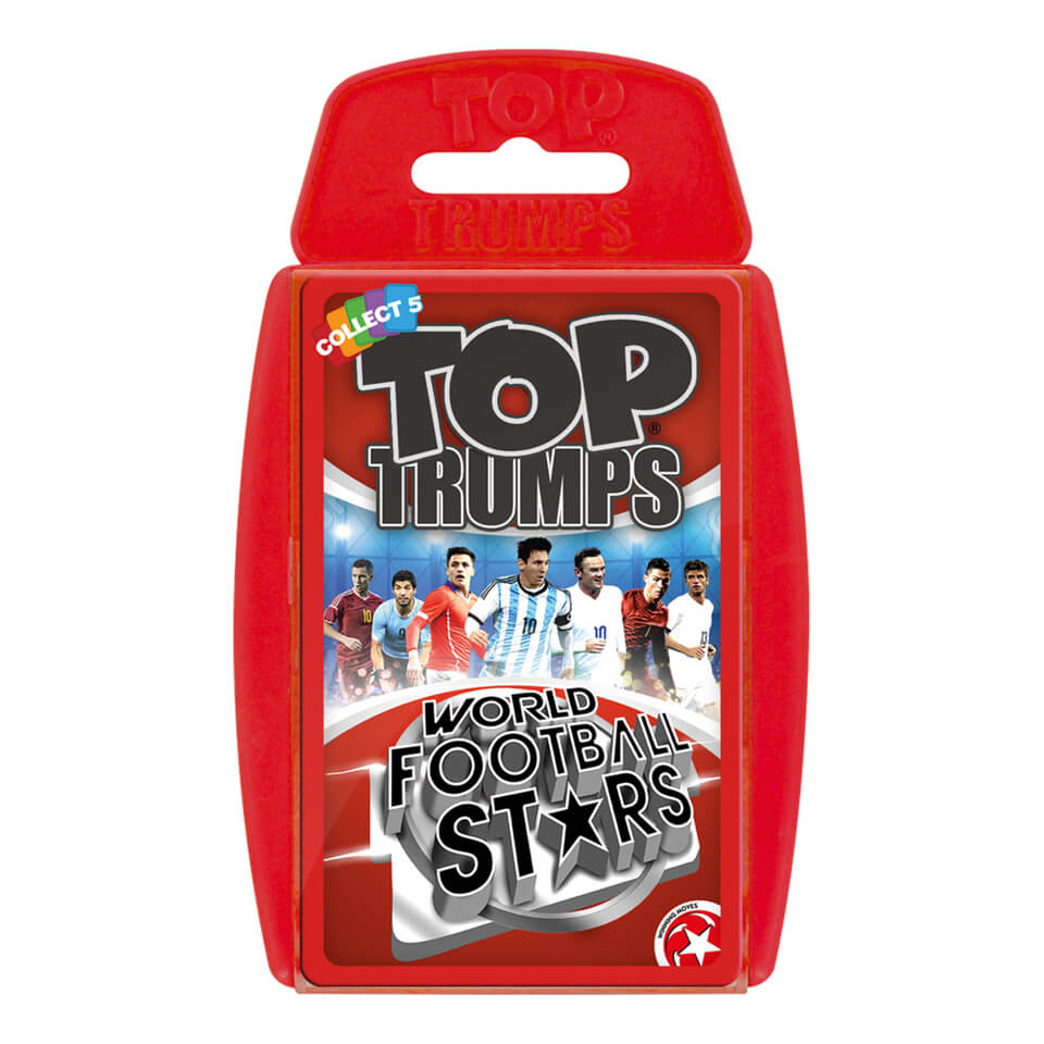 Image of Top Trumps Card Game - World Football Stars Edition