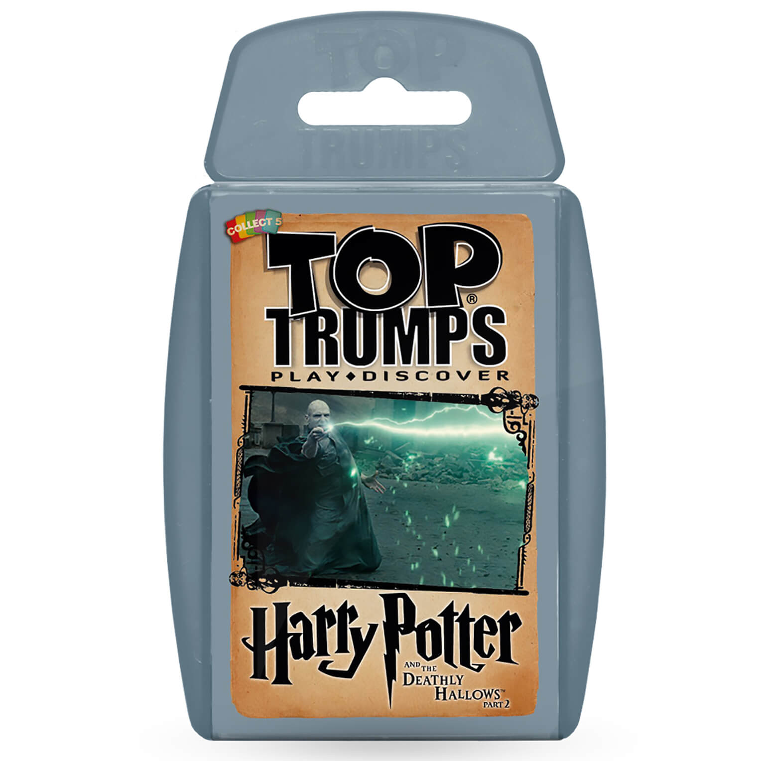 Image of Top Trumps Card Game - Harry Potter and the Deathly Hallows 2 Edition