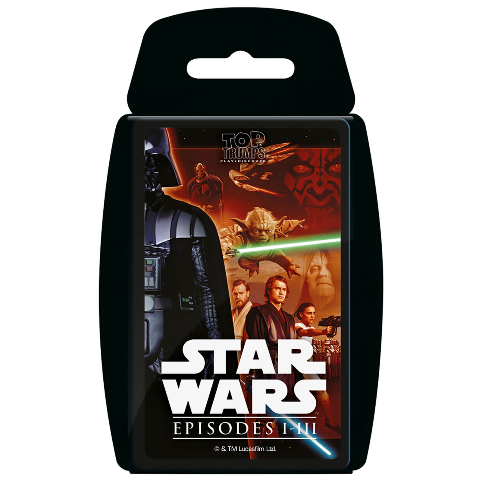 Image of Top Trumps Card Game - Star Wars 1-3 Edition
