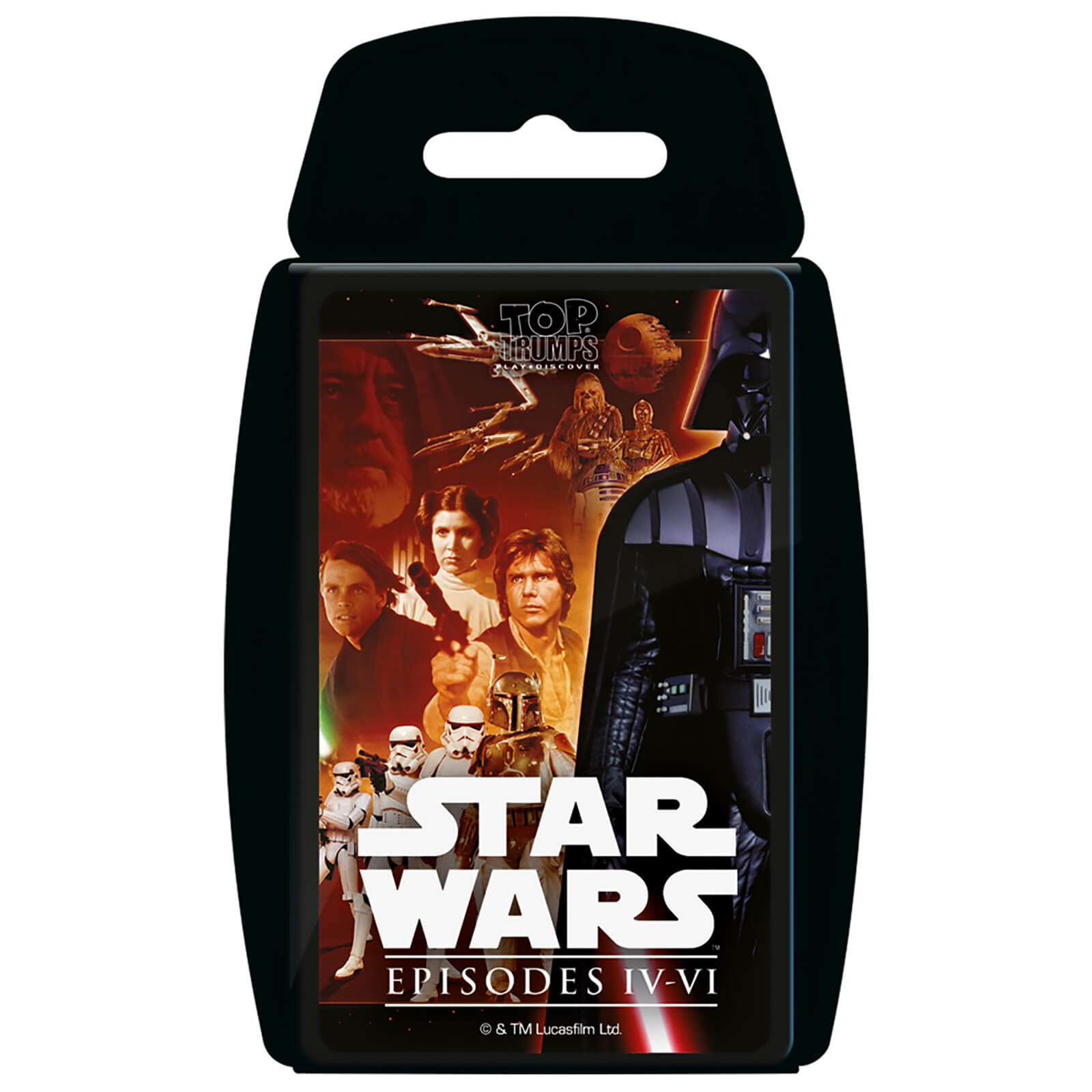 Image of Top Trumps Card Game - Star Wars 4-6 Edition