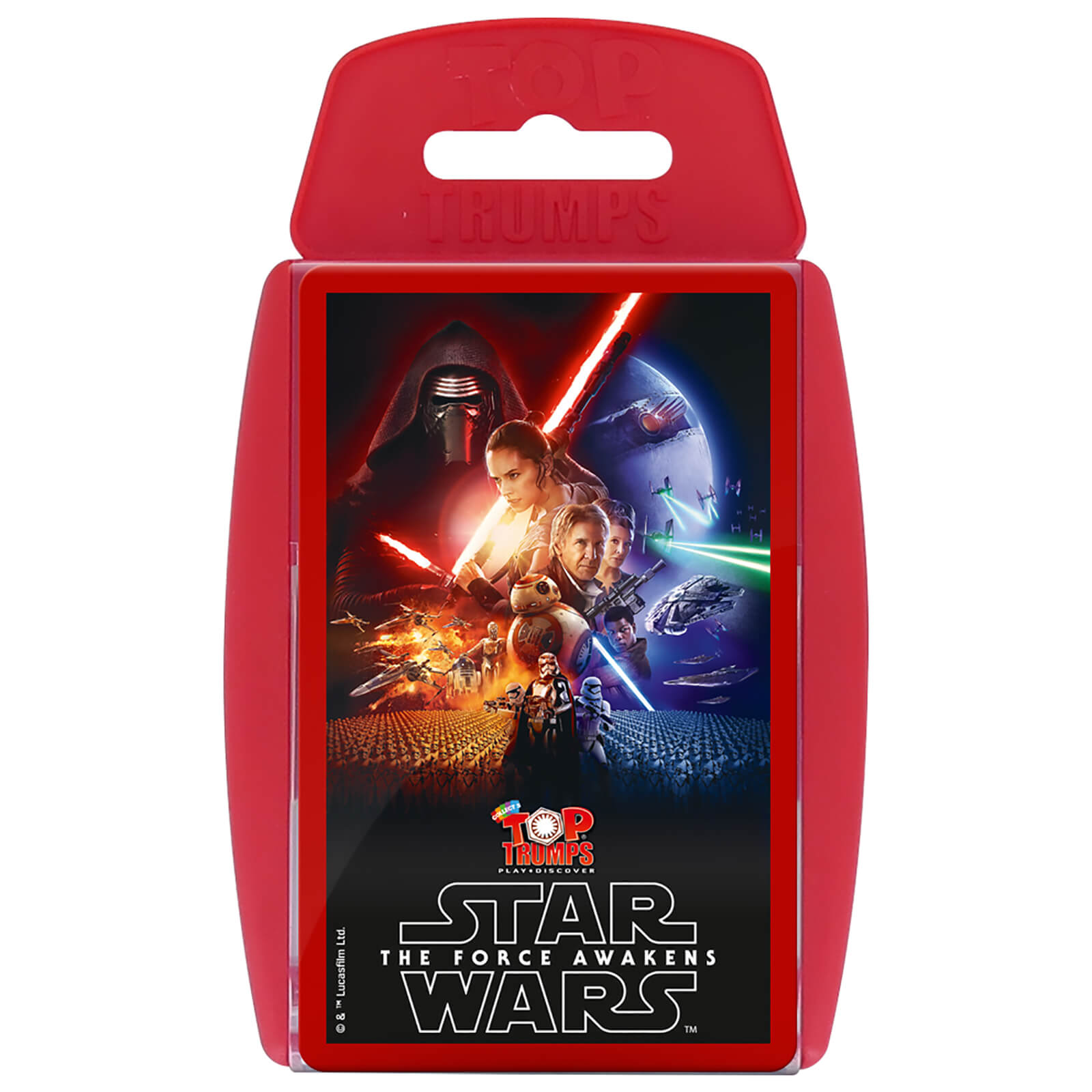 Image of Top Trumps Card Game - Star Wars: The Force Awakens Edition
