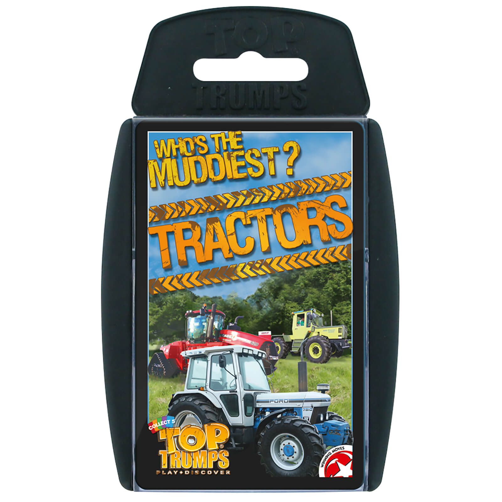 Image of Top Trumps Card Game - Tractors Edition