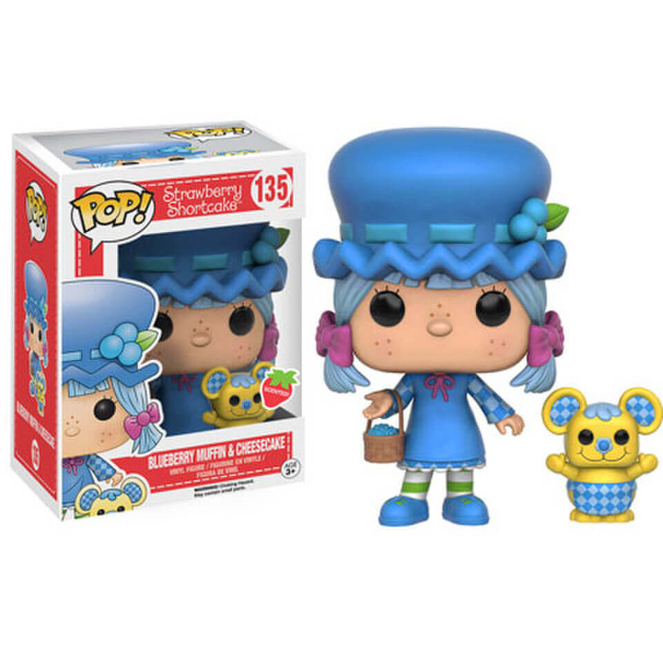 Strawberry Shortcake Blueberry Muffin And Cheesecake Scented Pop! Vinyl Figures