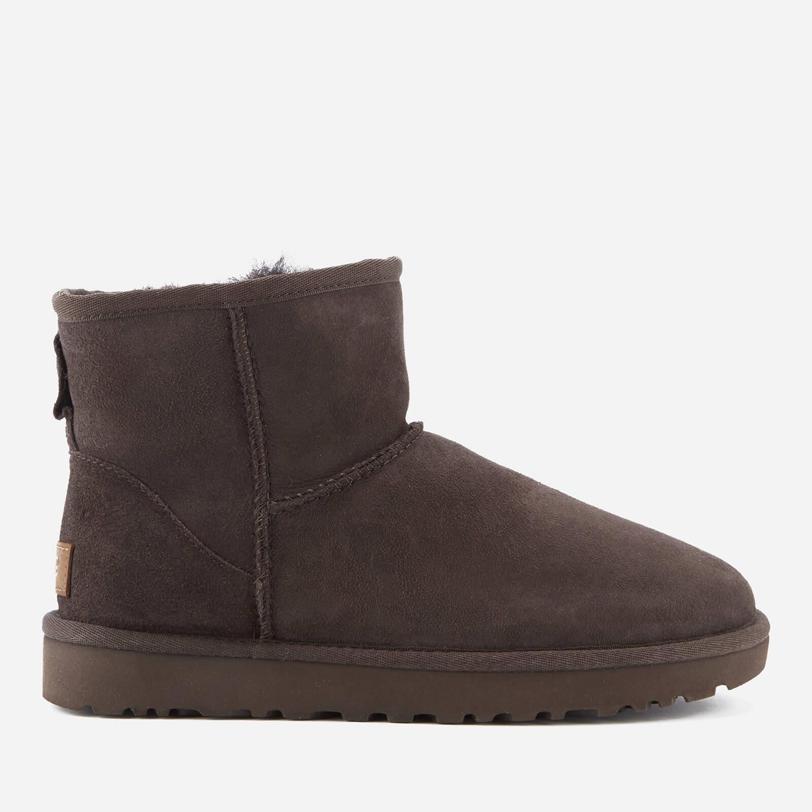 UGG Women's Classic Mini II Sheepskin Boots - Chocolate - UK 8