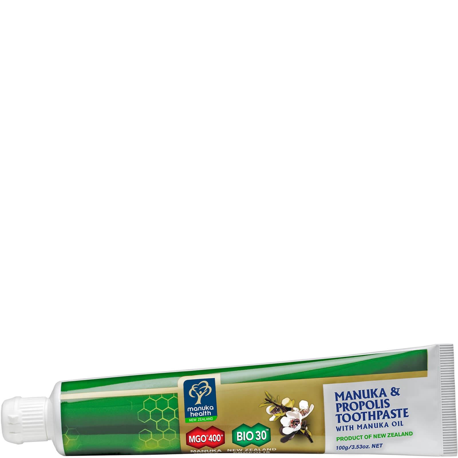 Купить Антибактериальная зубная паста с прополисом и маслом манука Manuka Health Propolis and MGO 400 Toothpaste with Manuka Oil 100г