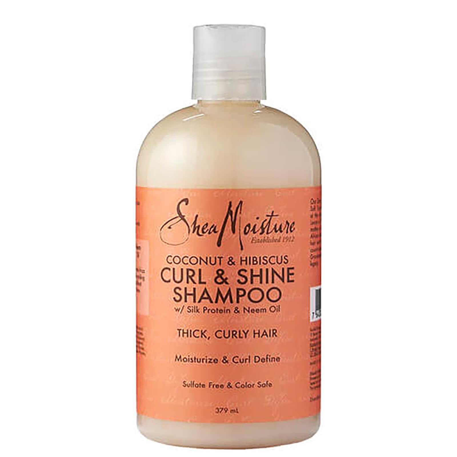 Купить Shea Moisture Coconut & Hibiscus Curl & Shine ShampooШампунь для волос 379мл