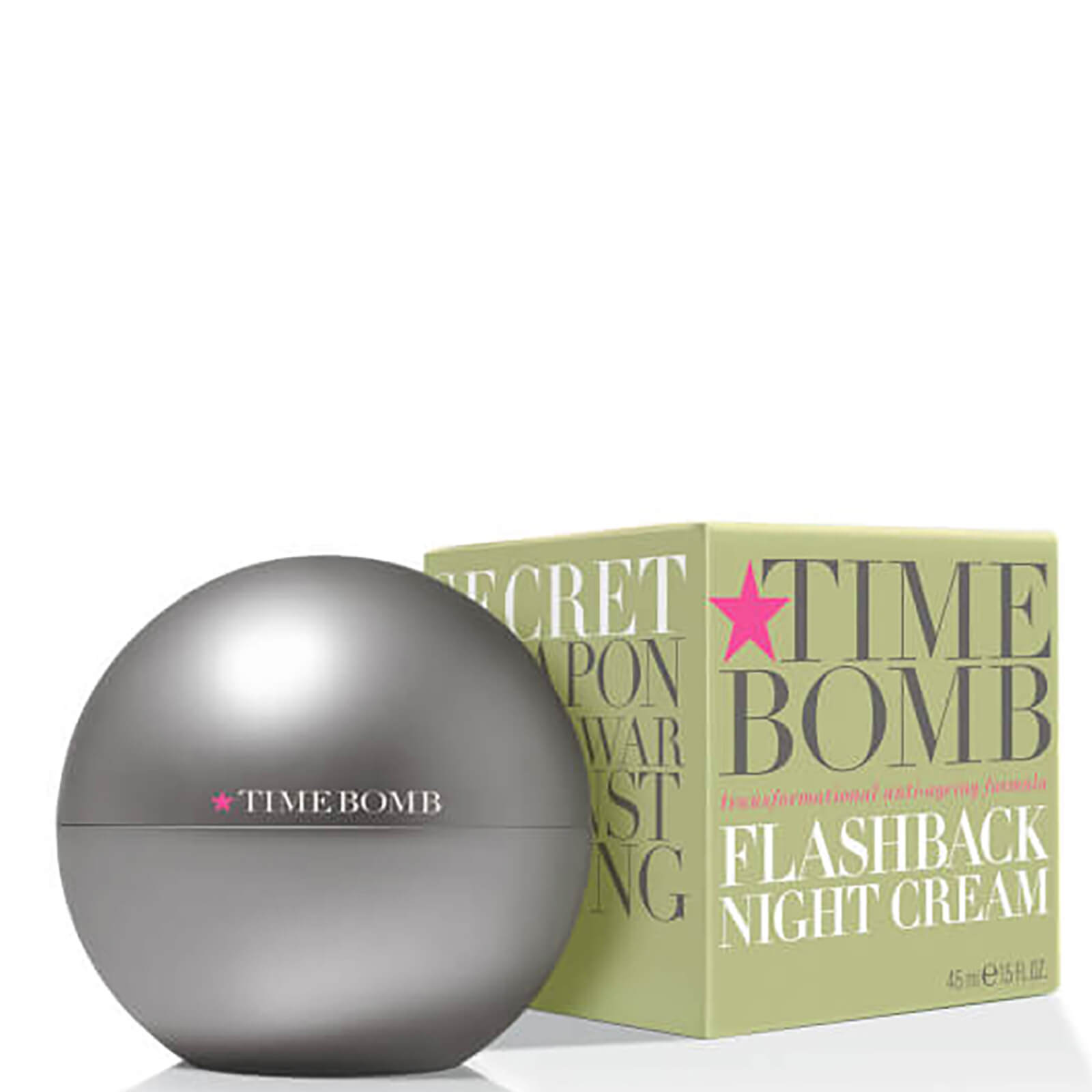 Time Bomb Flashback crema notte anti-età 45 ml