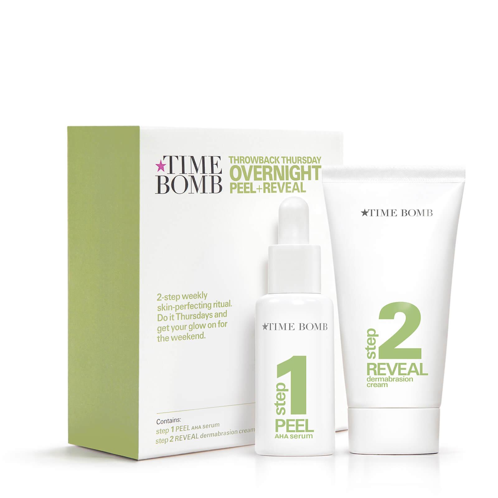 Time Bomb Overnight Peel and Reveal trattamento esfoliante notte in due fasi (25 ml/40 ml)
