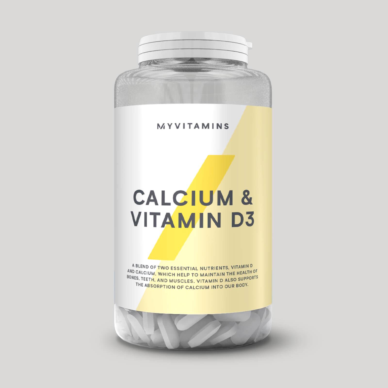 Calcium + Vitamine D3 - 180Comprimés