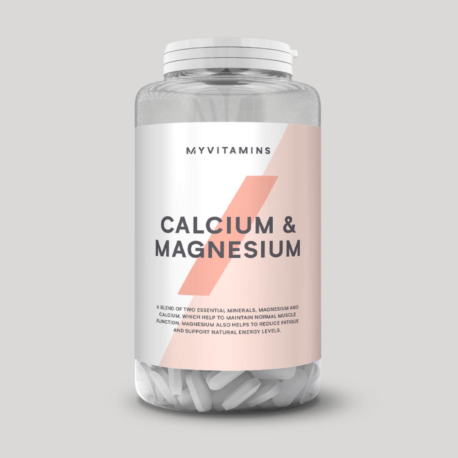 Calcium & Magnesium en tablettes - 90Comprimés