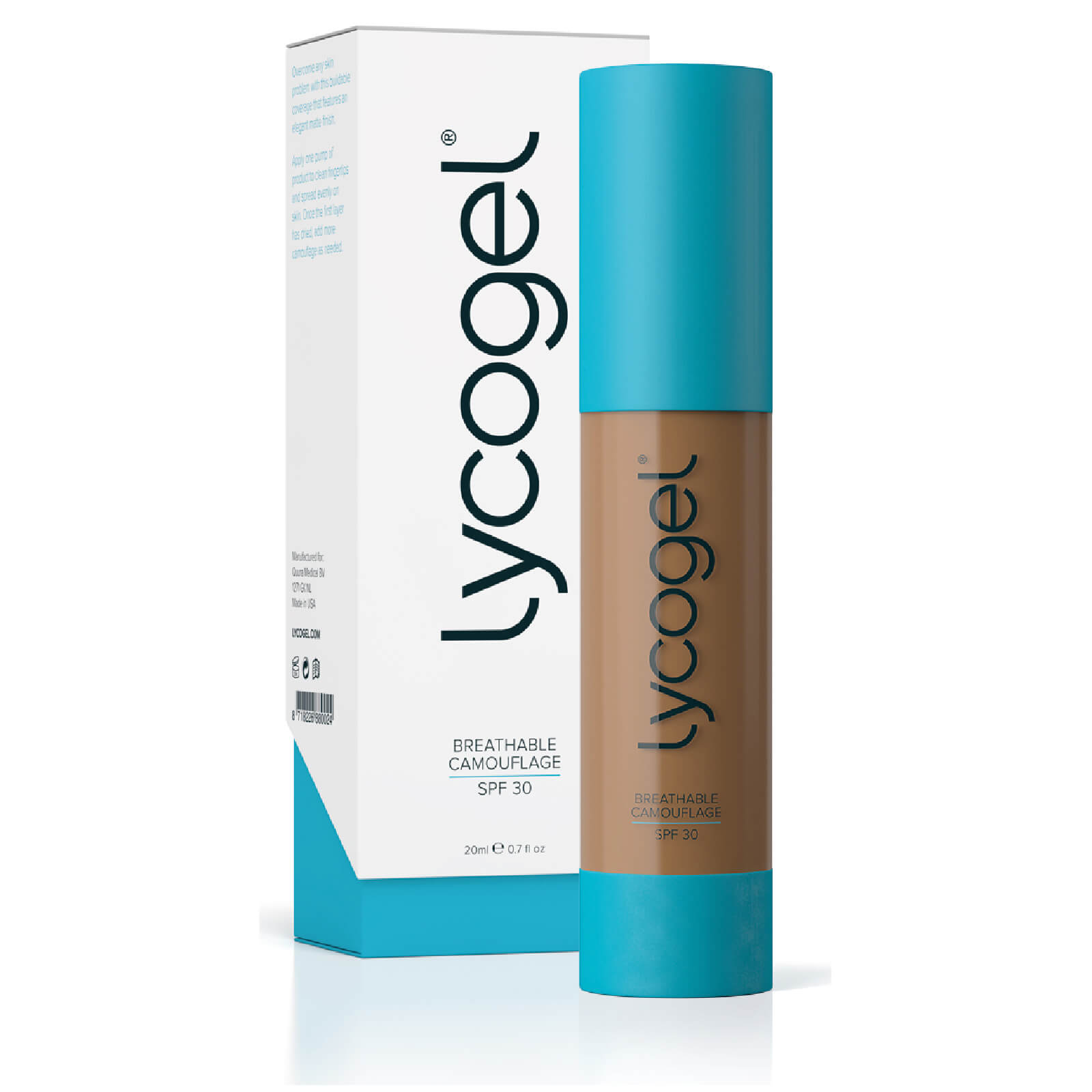 Lycogel Breathable Camouflage - Almond 20ml