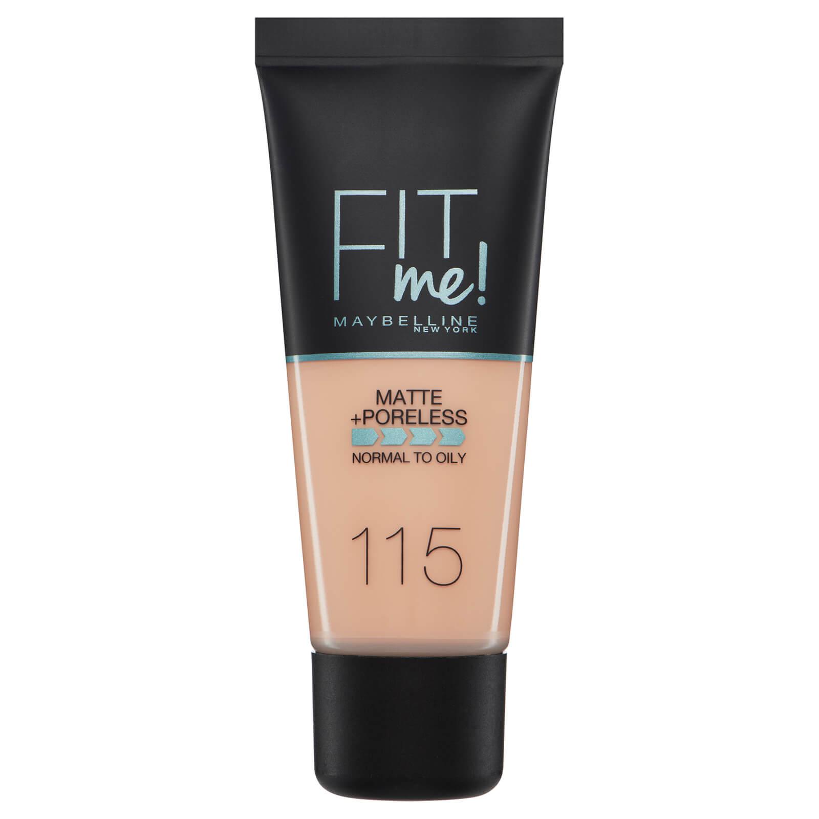 Купить Fit Me! от Maybelline Матирующий тональный крем для сужения пор, 30мл (разные оттенки) - 115 Ivory