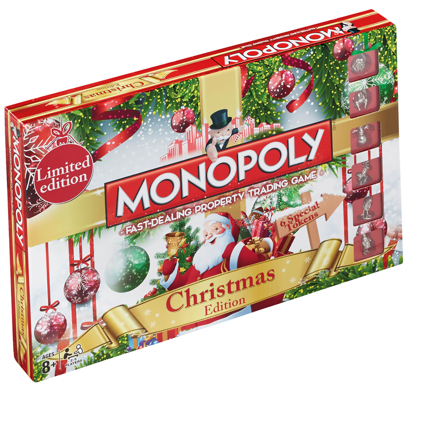 Image of Christmas Monopoly Board Game