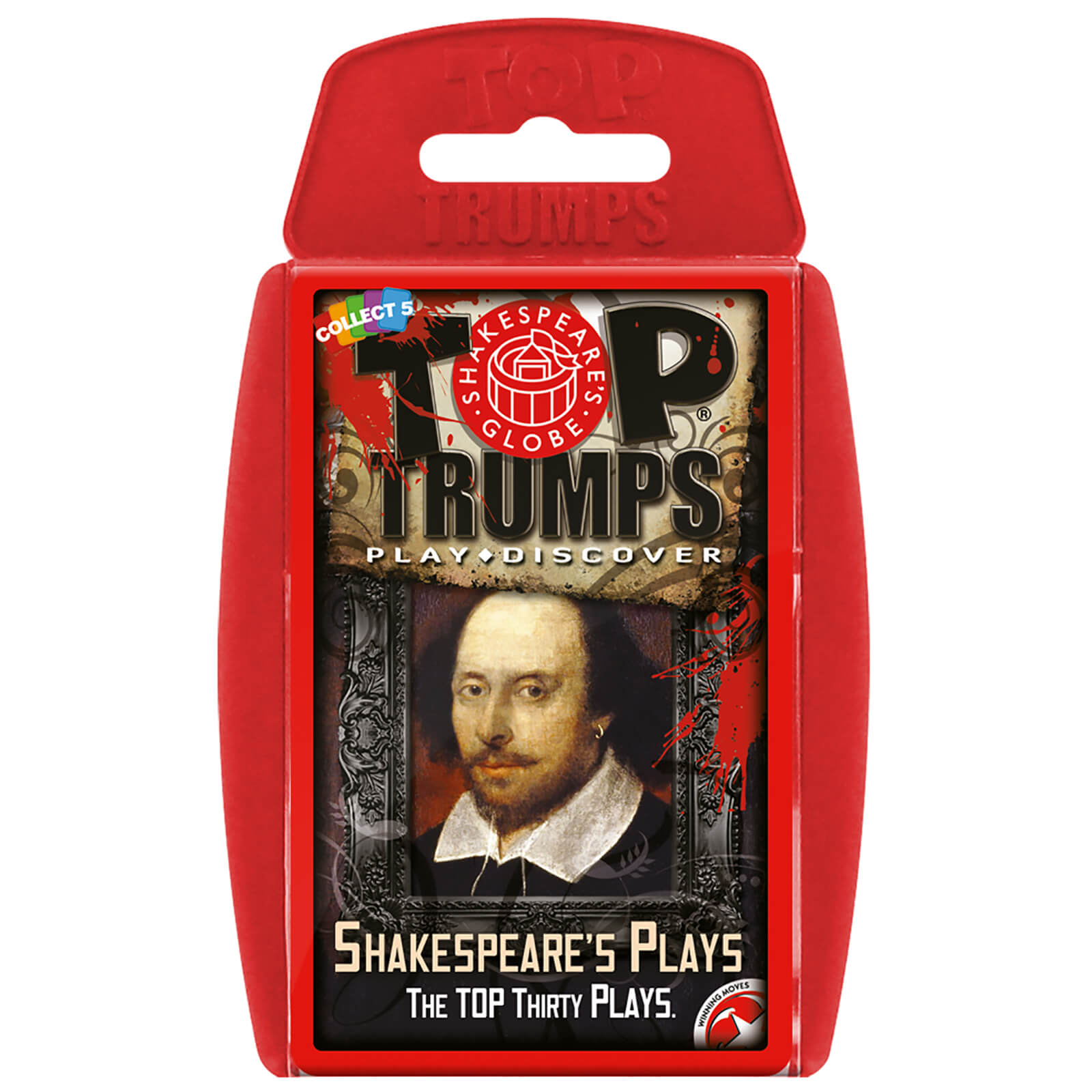 Image of Top Trumps Card Game - Shakespeare's Play Edition