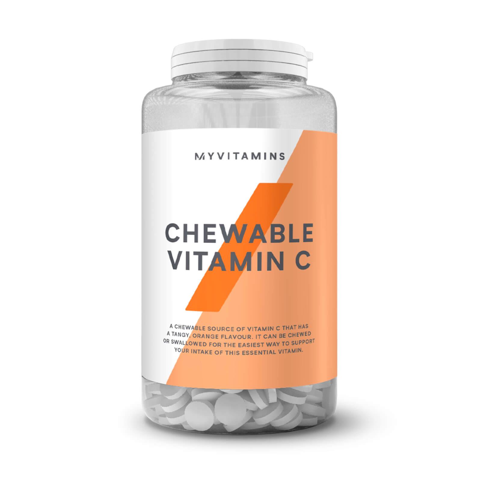 Myvitamins Chewable Vitamin C - 60Tablets