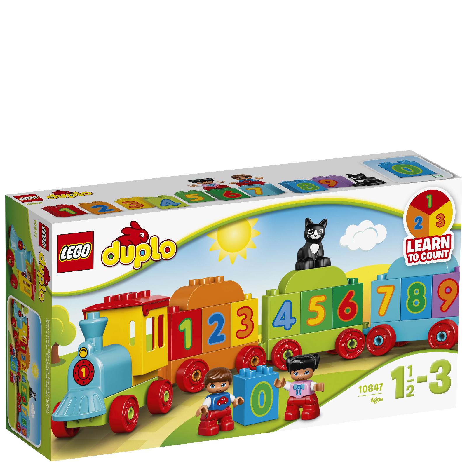 Image of 10847 LEGO® DUPLO® Zahlenzug