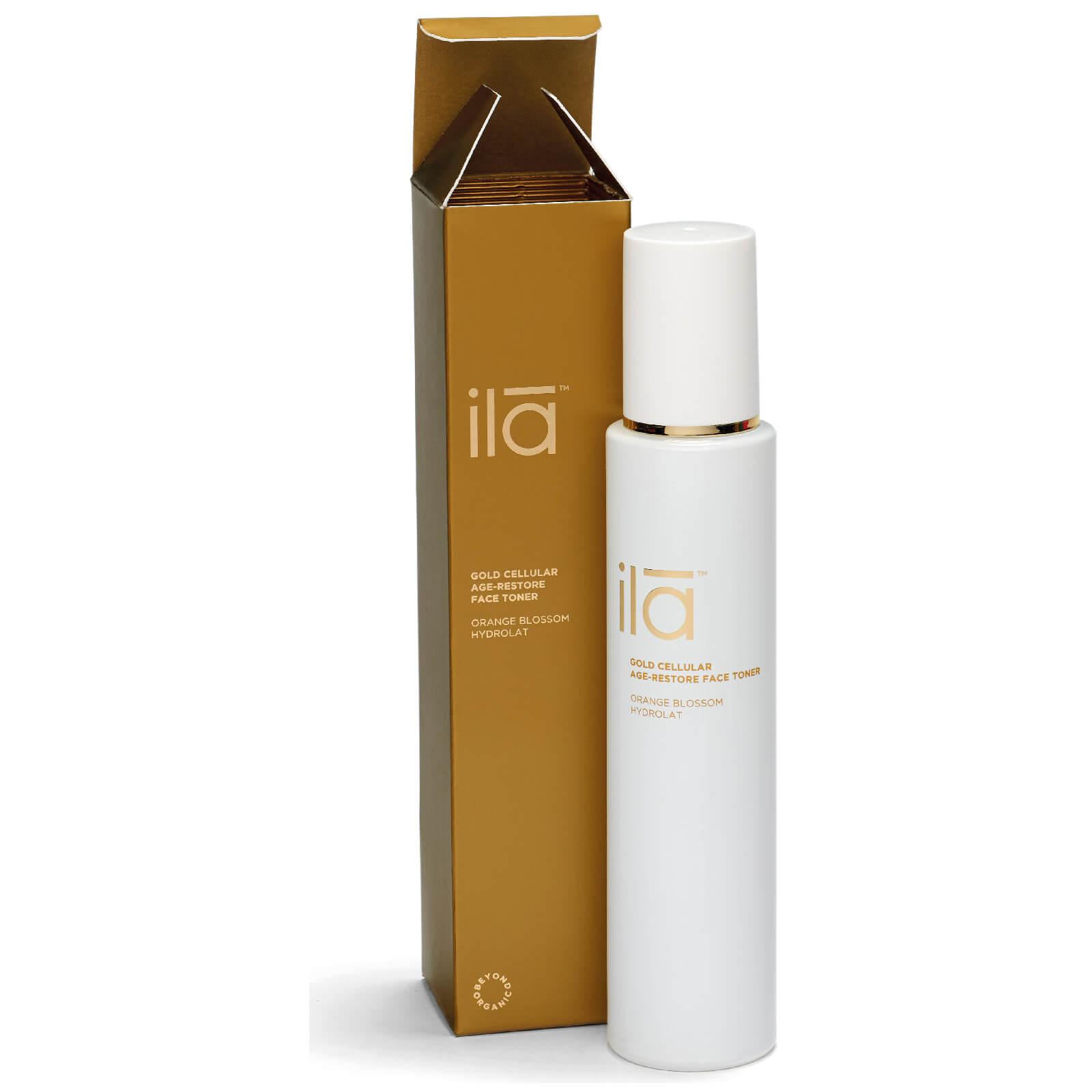 Купить Антивозрастной тоник для лица с частицами золота Ila-Spa Gold Cellular Age-Restore Face Toner 100мл