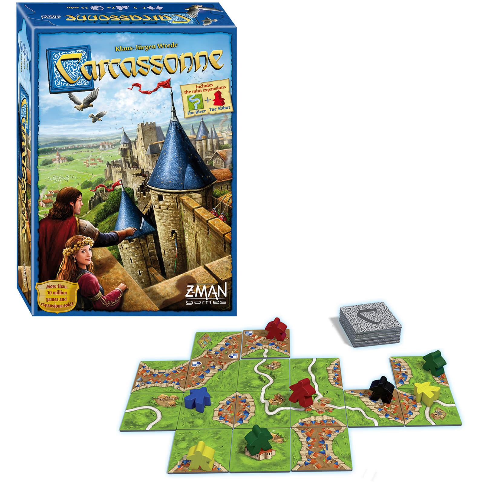 Image of Carcassonne Strategy Game (2015 New Edition)