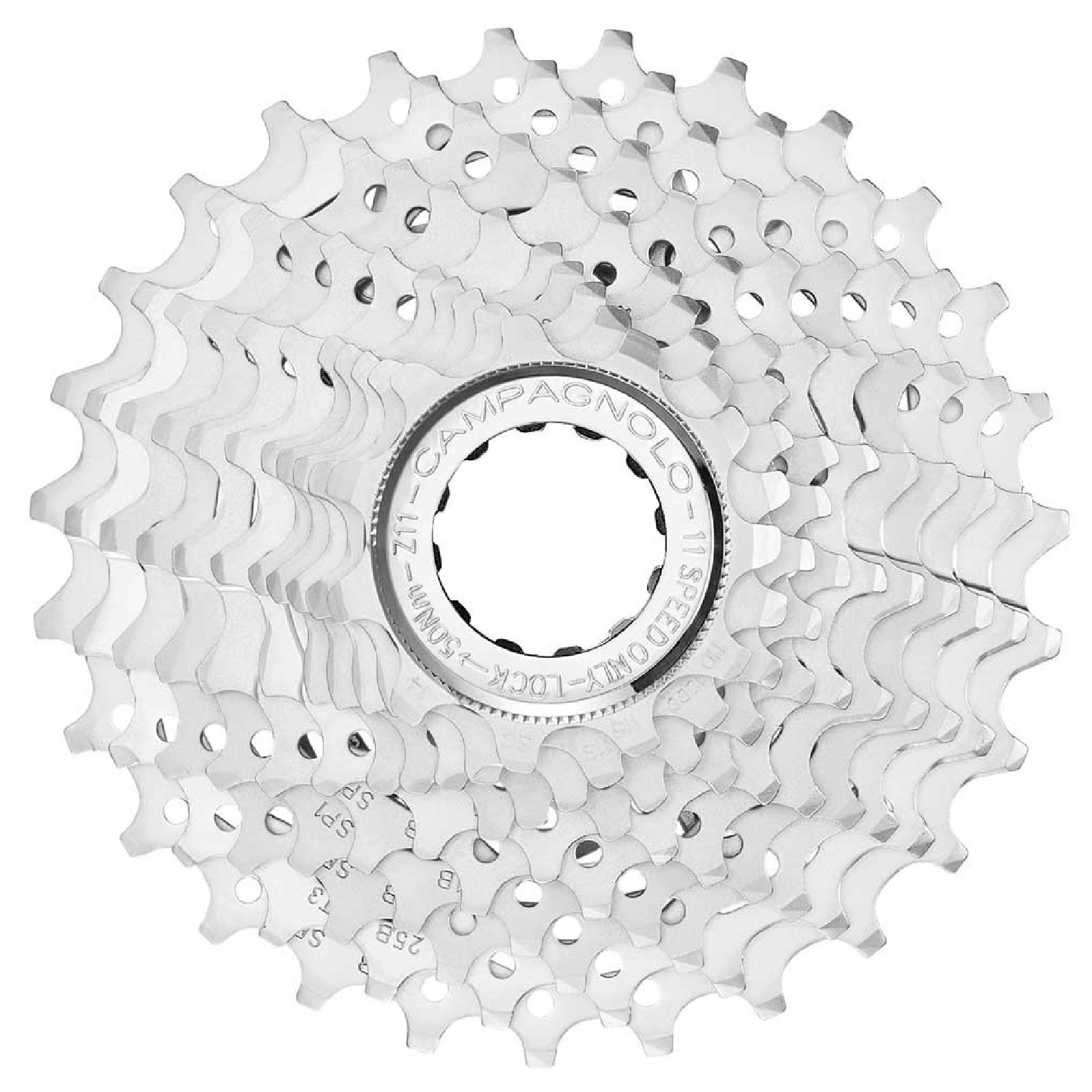 campagnolo potenza 11 speed cassette - silver - 12-27t