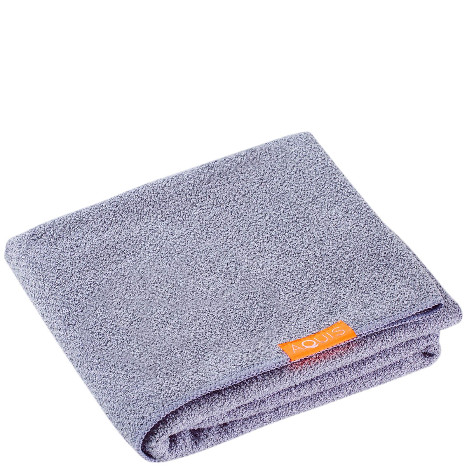 Купить Полотенце для сушки волос Aquis Hair Towel Lisse Luxe Cloudy Berry