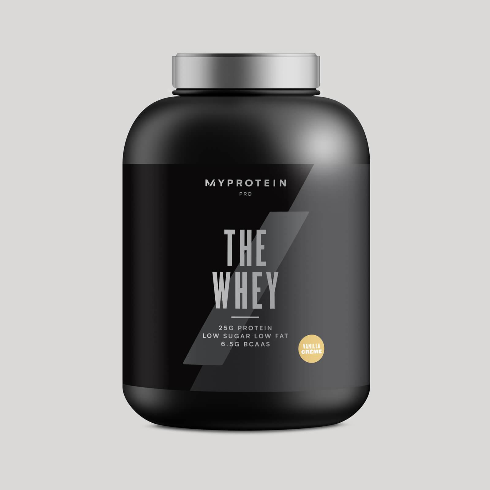 THE Whey™ - 60 Servings - 1.74kg - Crème Vanille