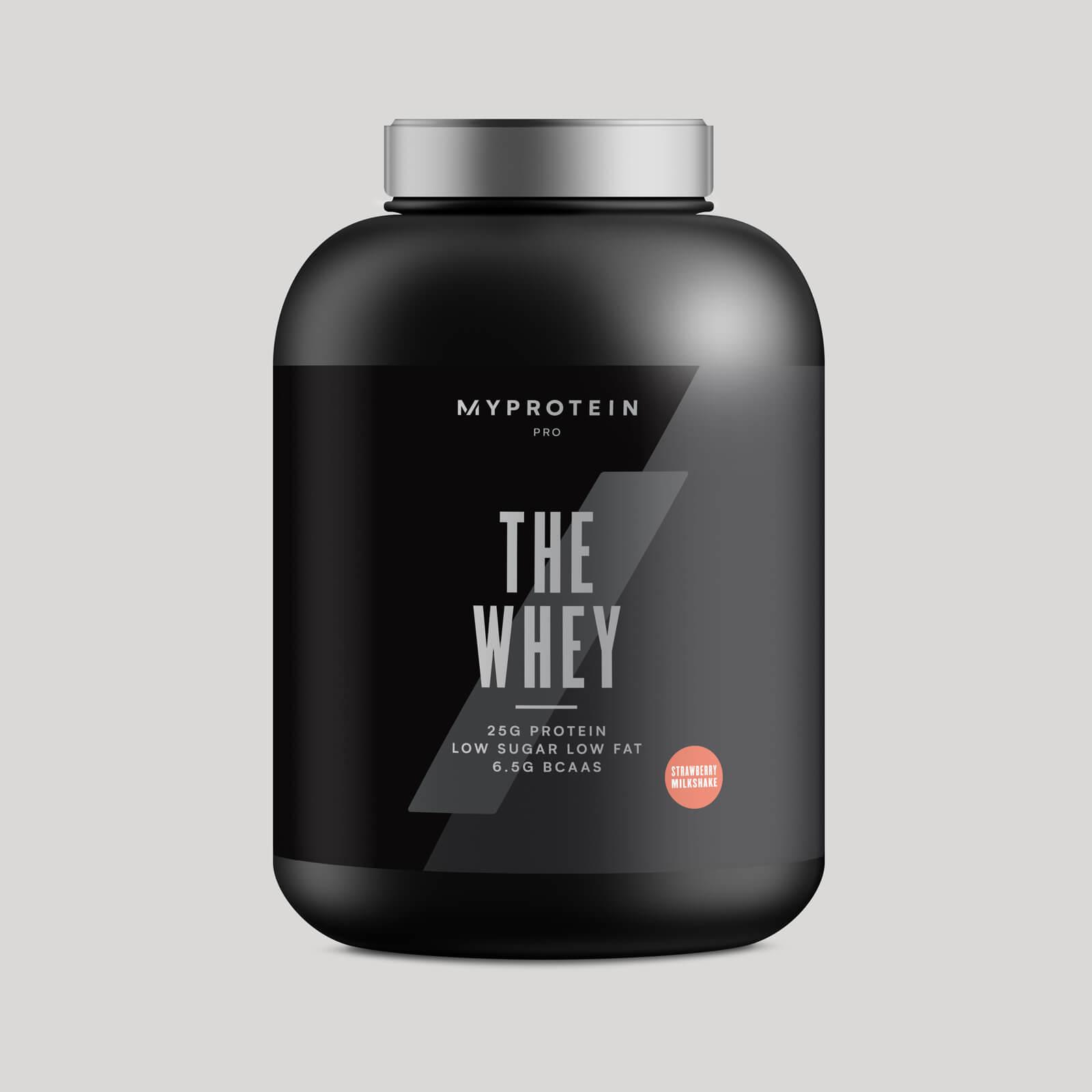 THE Whey™ - 60 Servings - 1.74kg - Milkshake Fraise