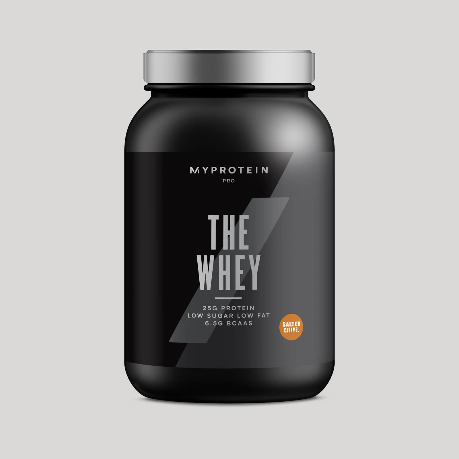 THE Whey™ - 30 Servings - 900g - Nouveau - Caramel salé