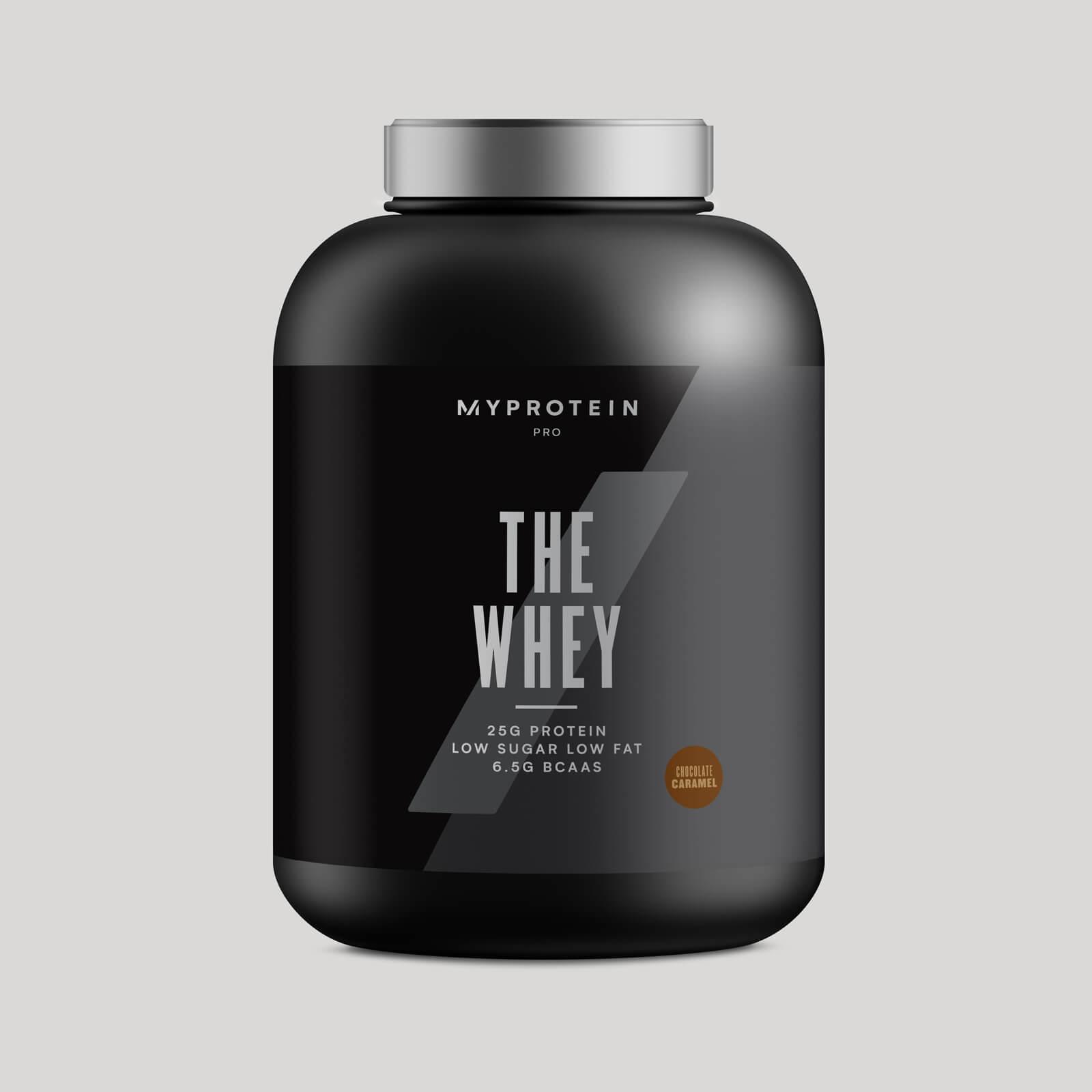 THE Whey™ - 60 Servings - 1.8kg - Nouveau - Caramel salé