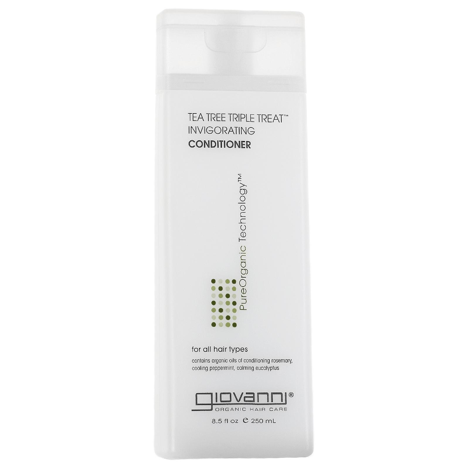 Купить Кондиционер для оживления волос с маслом чайного дерева Giovanni Tea Tree Triple Treat Conditioner 250 мл