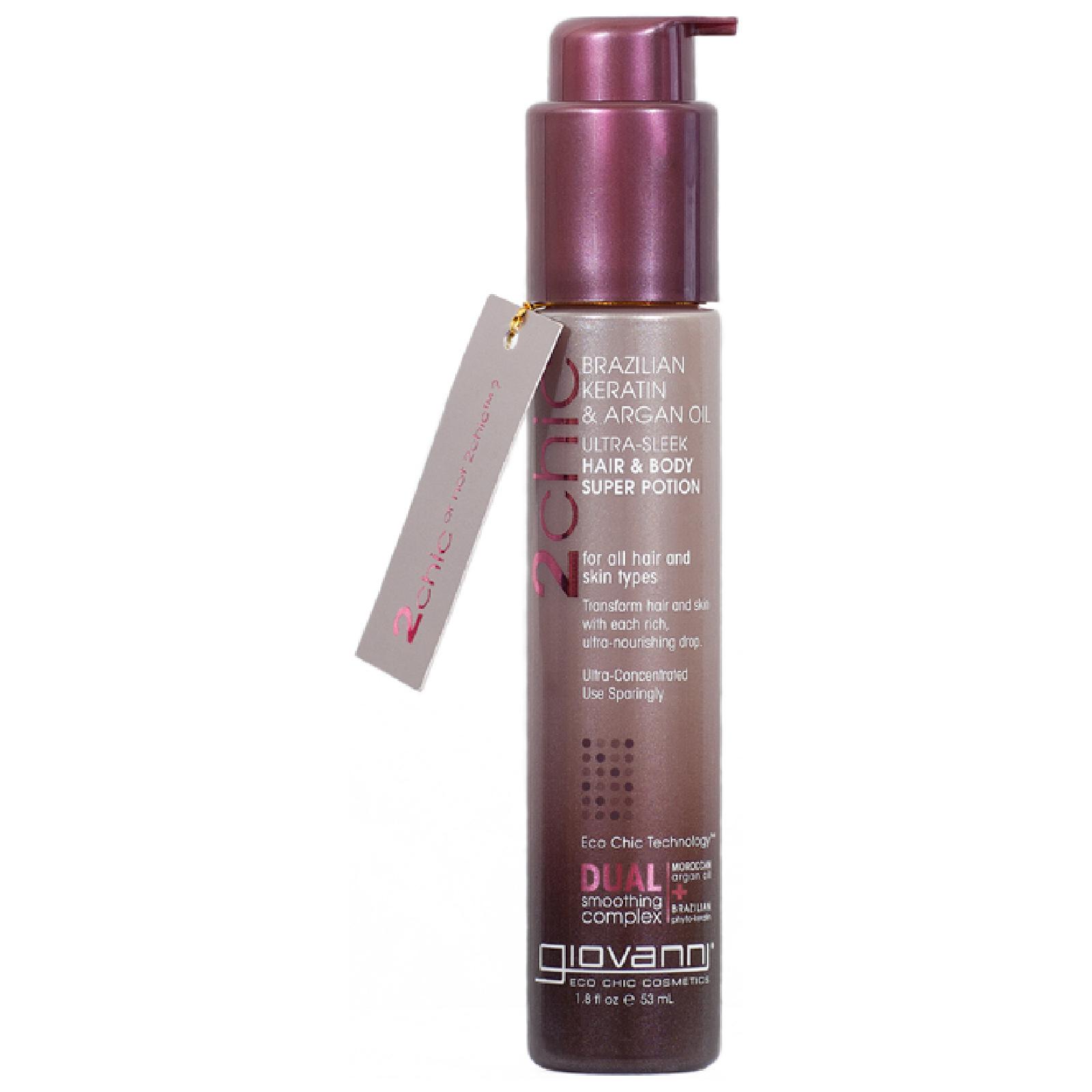 Купить Концентрированный эликсир для тела и волос Giovanni Ultra-Sleek Hair & Body Super Potion 53 мл