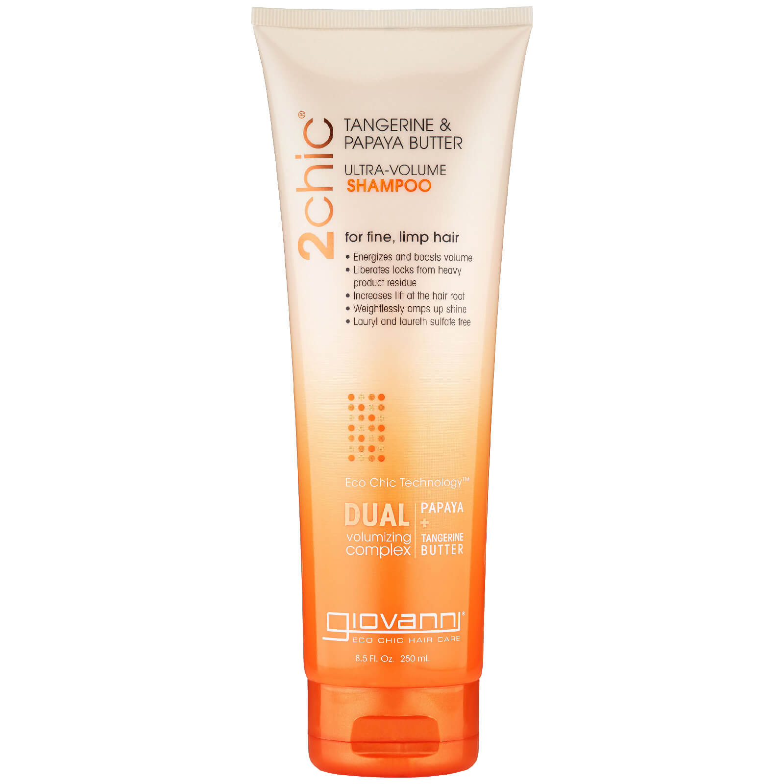 Шампунь для придания объема Giovanni GNV 2chic U-Volume Shampoo 250 мл  - Купить
