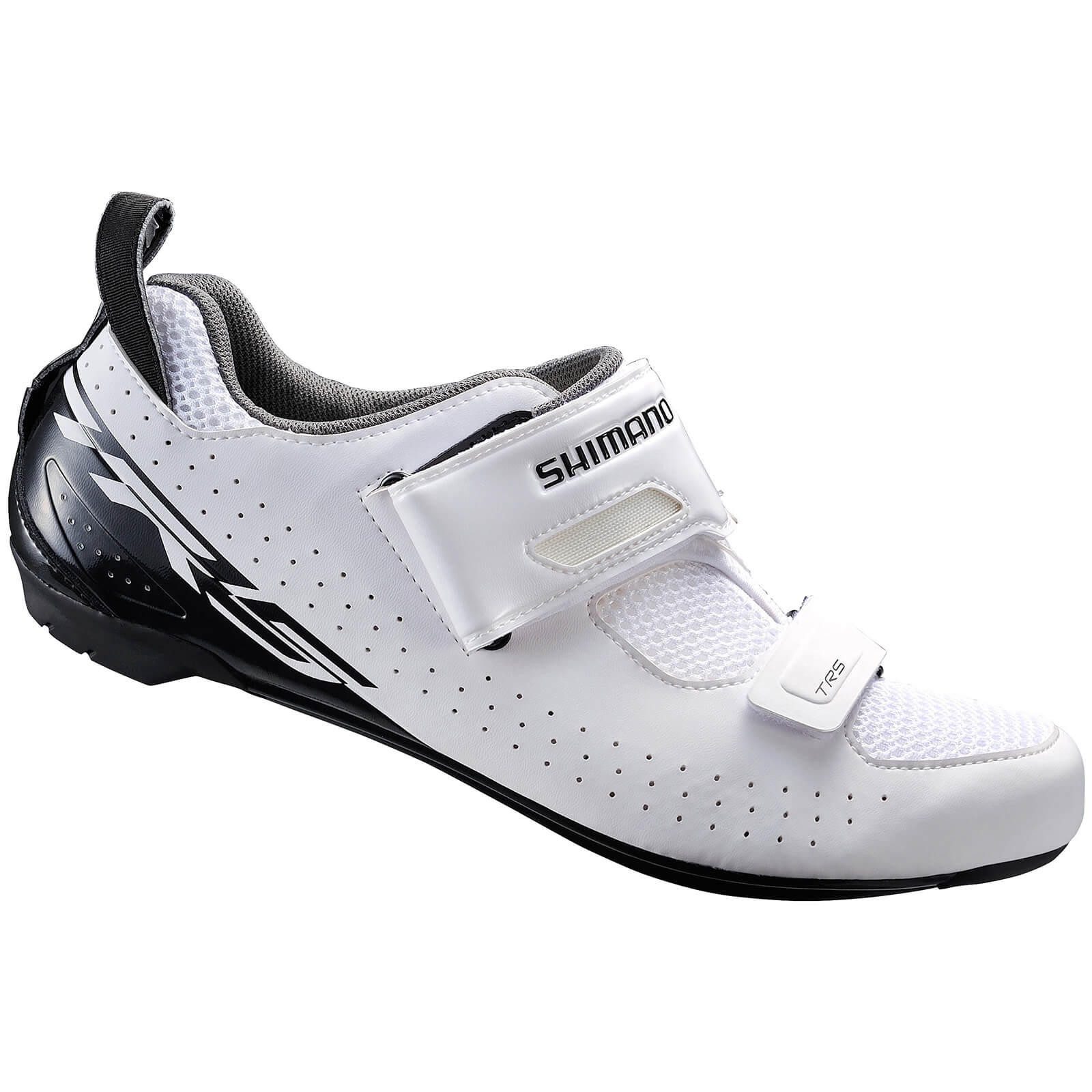 Shimano TR5 SPD-SL Triathlon Shoes - White - EU 39 - White