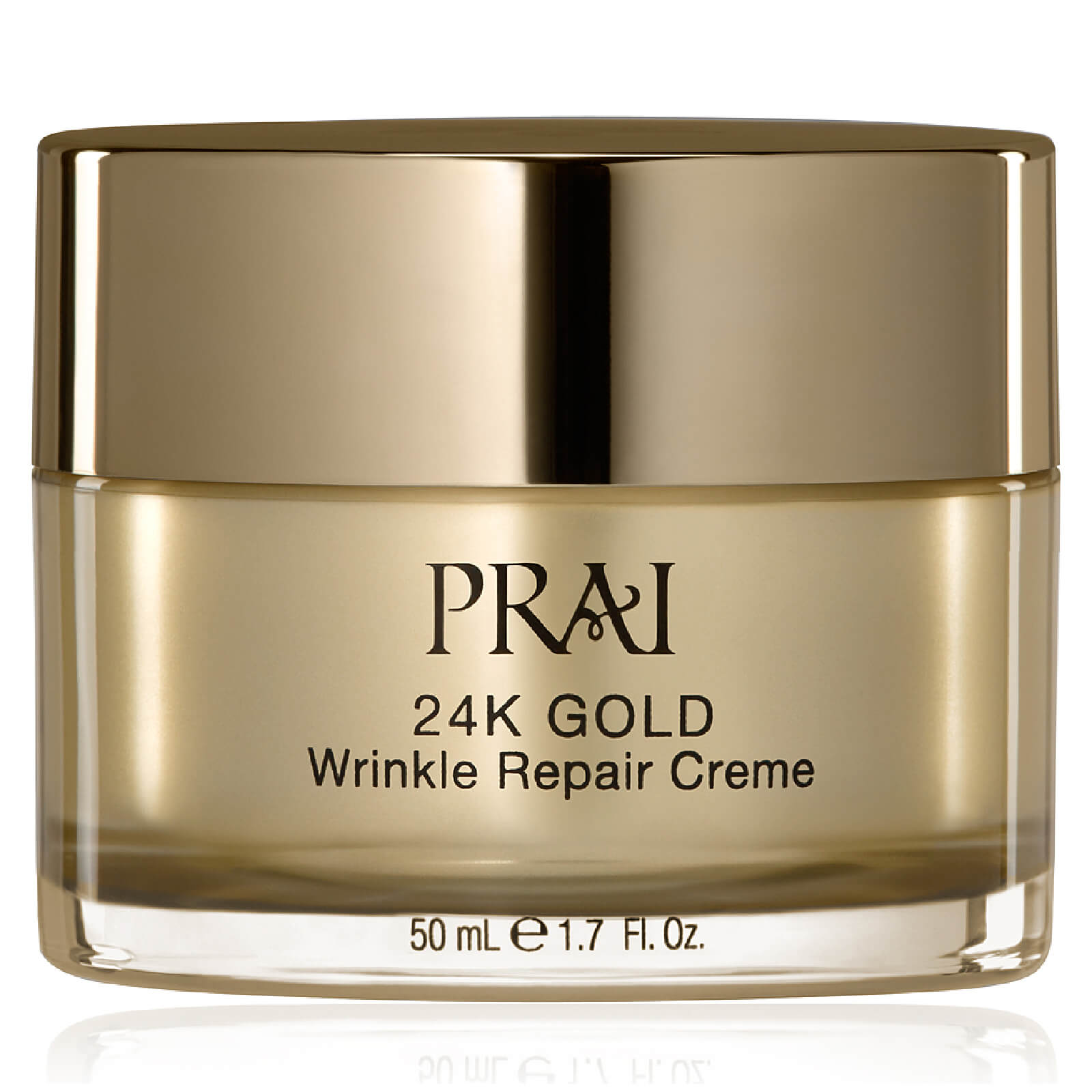 Купить Восстанавливающий крем для лица против морщин с частицами 24-каратного золота PRAI 24K GOLD Wrinkle Repair Crème 50мл