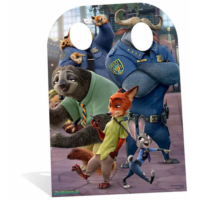 Image of Zootropolis Child Stand In Cut Out