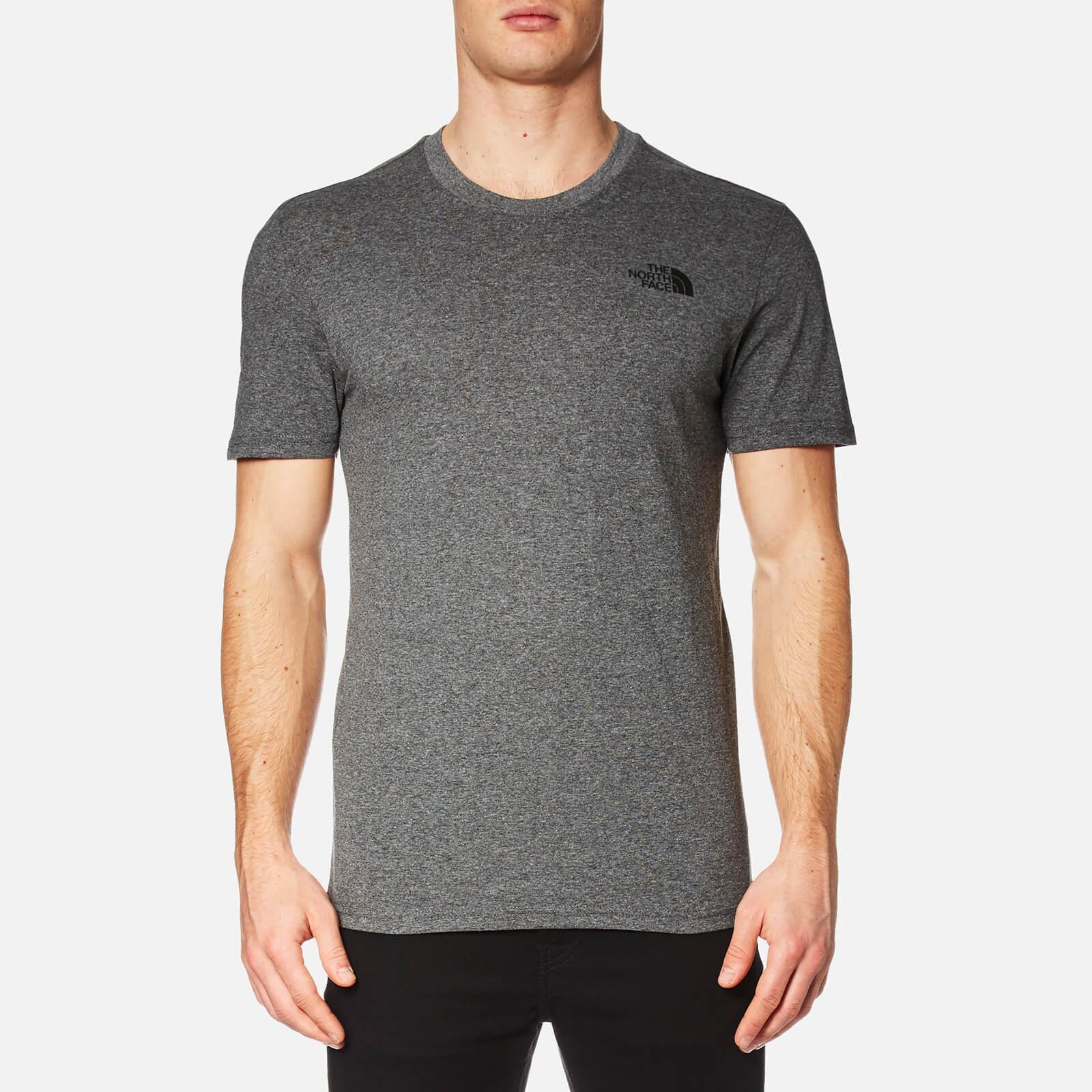 The North Face Men's Simple Dome Short Sleeve T-Shirt - TNF Medium Grey Heather - S