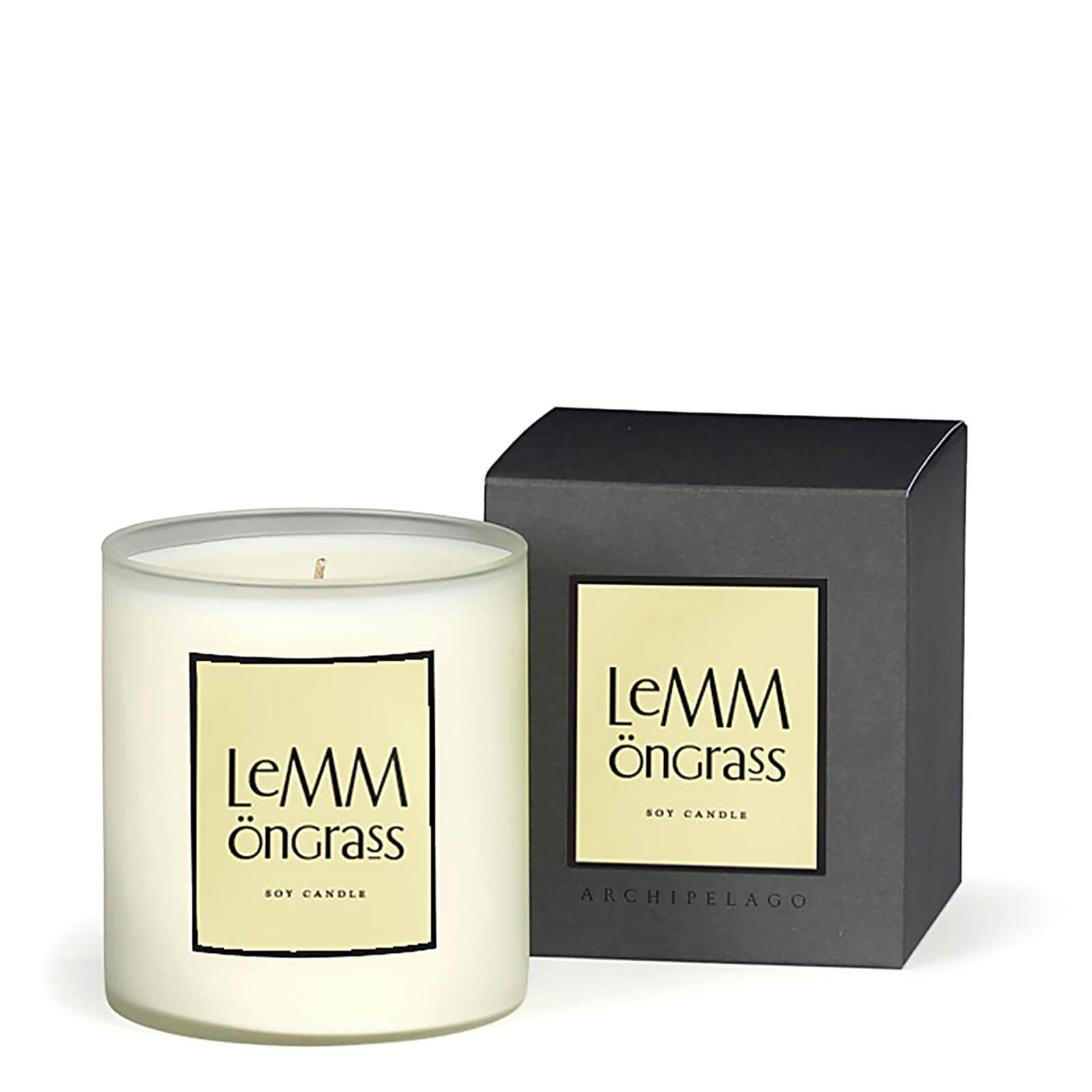 Купить Декоративная ароматическая свеча «Лемонграсс» Archipelago Botanicals Home Lemongrass Candle 400г