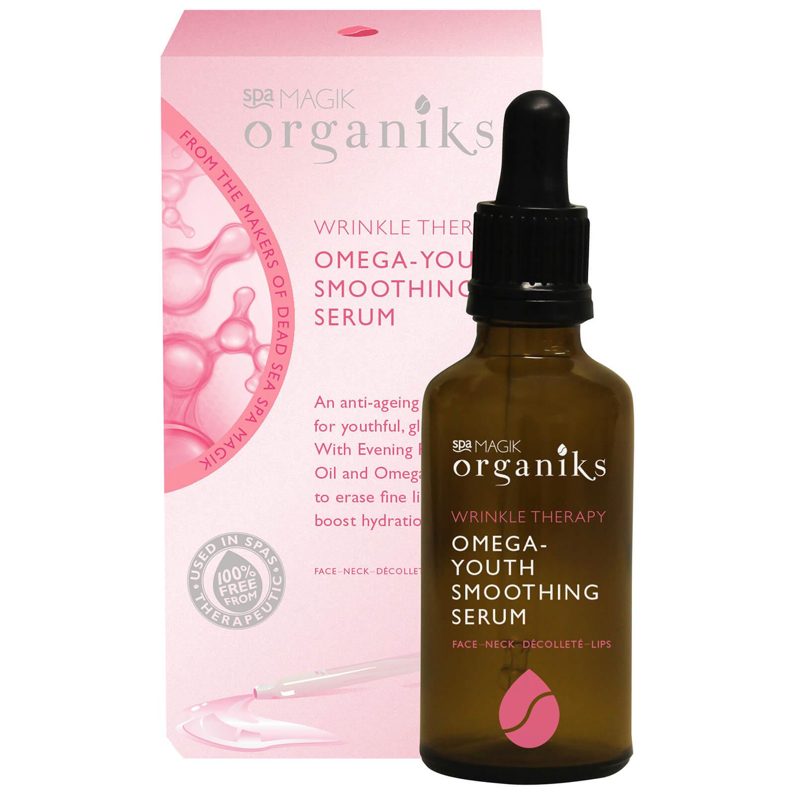 Купить Антивозрастная сыворотка с жирными кислотами омега-3 Spa Magik Organiks Wrinkle Therapy Omega-Youth Smoothing Serum