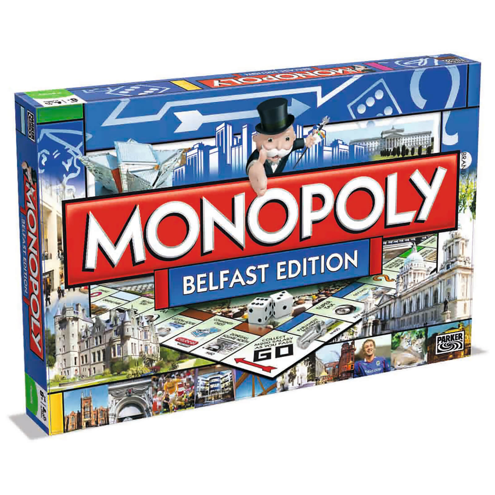 Image of Monopoly Board Game - Belfast Edition