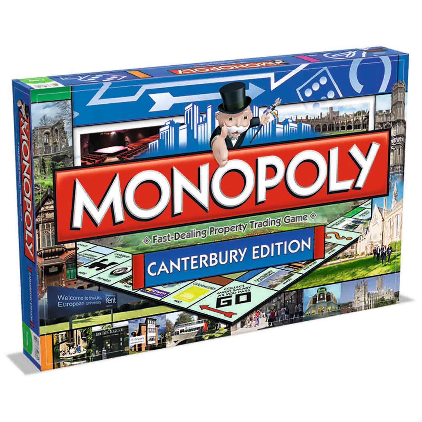 Image of Monopoly Board Game - Canterbury Edition