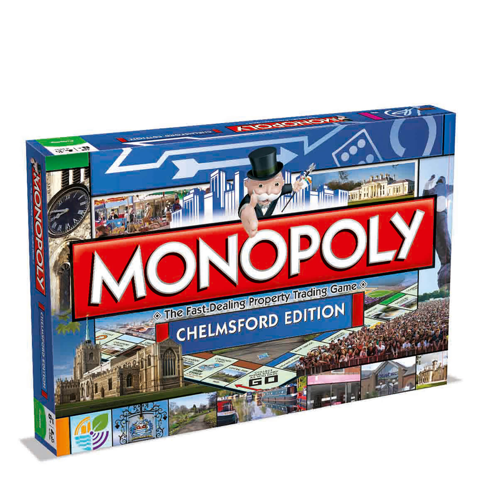 Image of Monopoly Board Game - Chelmsford Edition