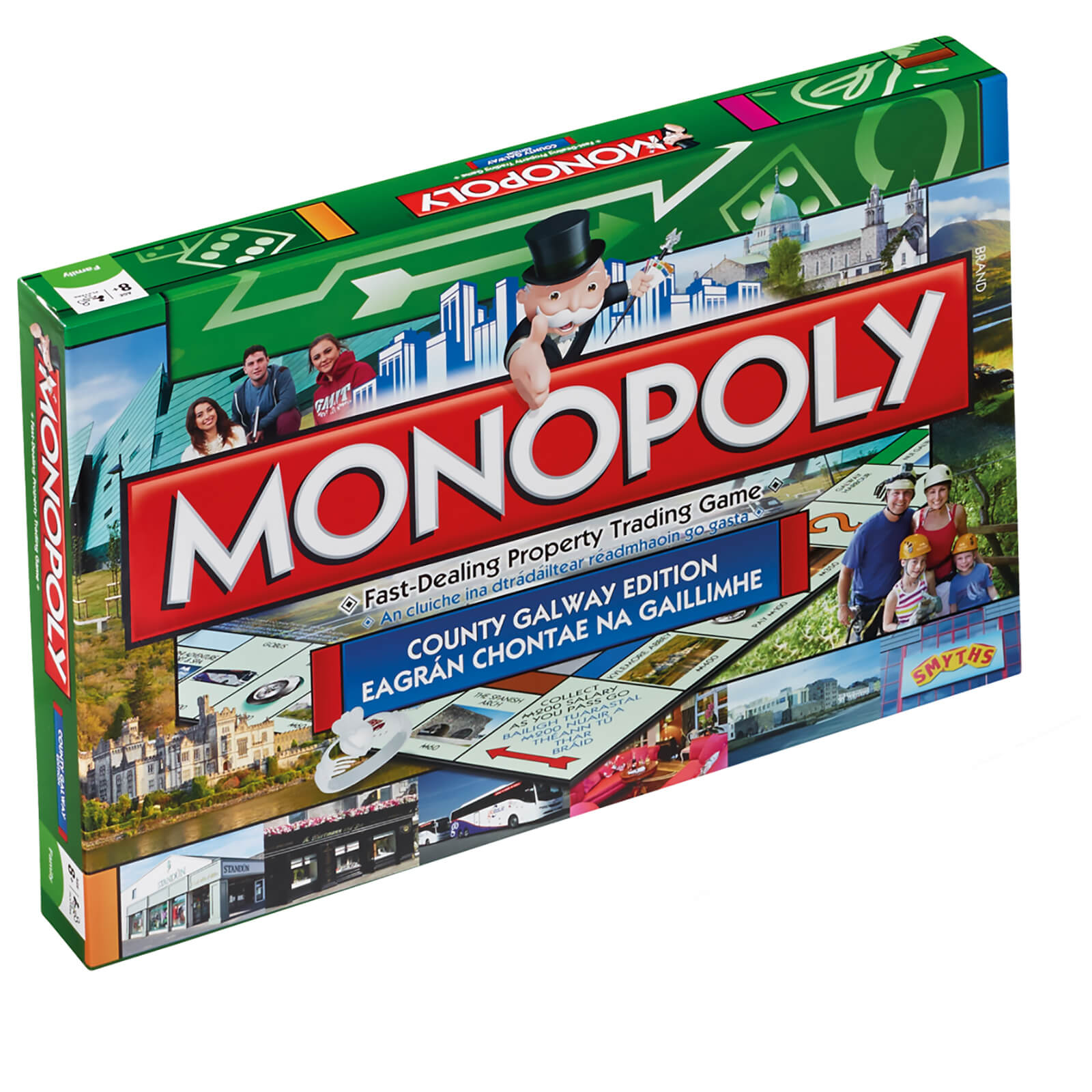 Image of Monopoly Board Game - Galway Edition