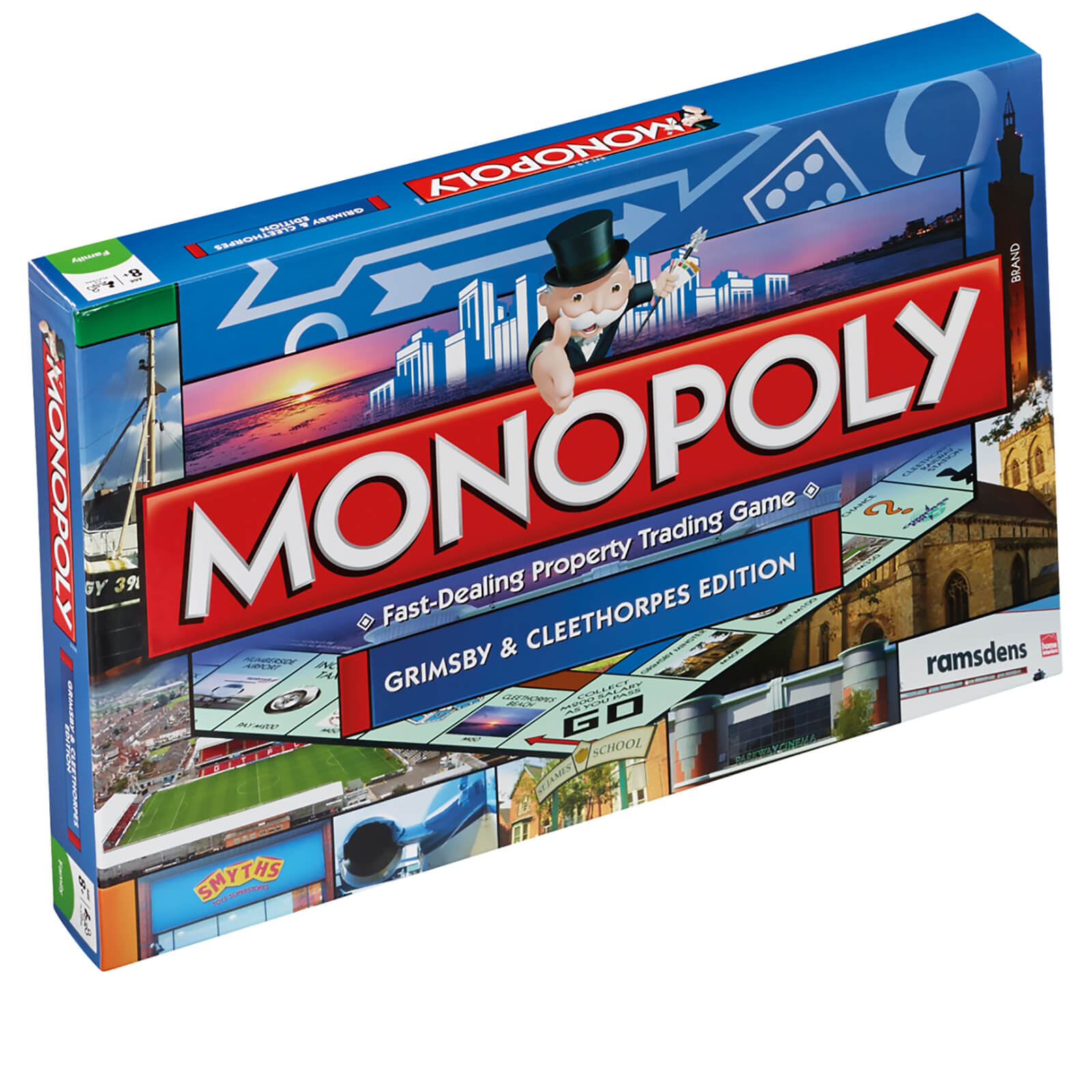 Image of Monopoly Board Game - Grimsby Edition