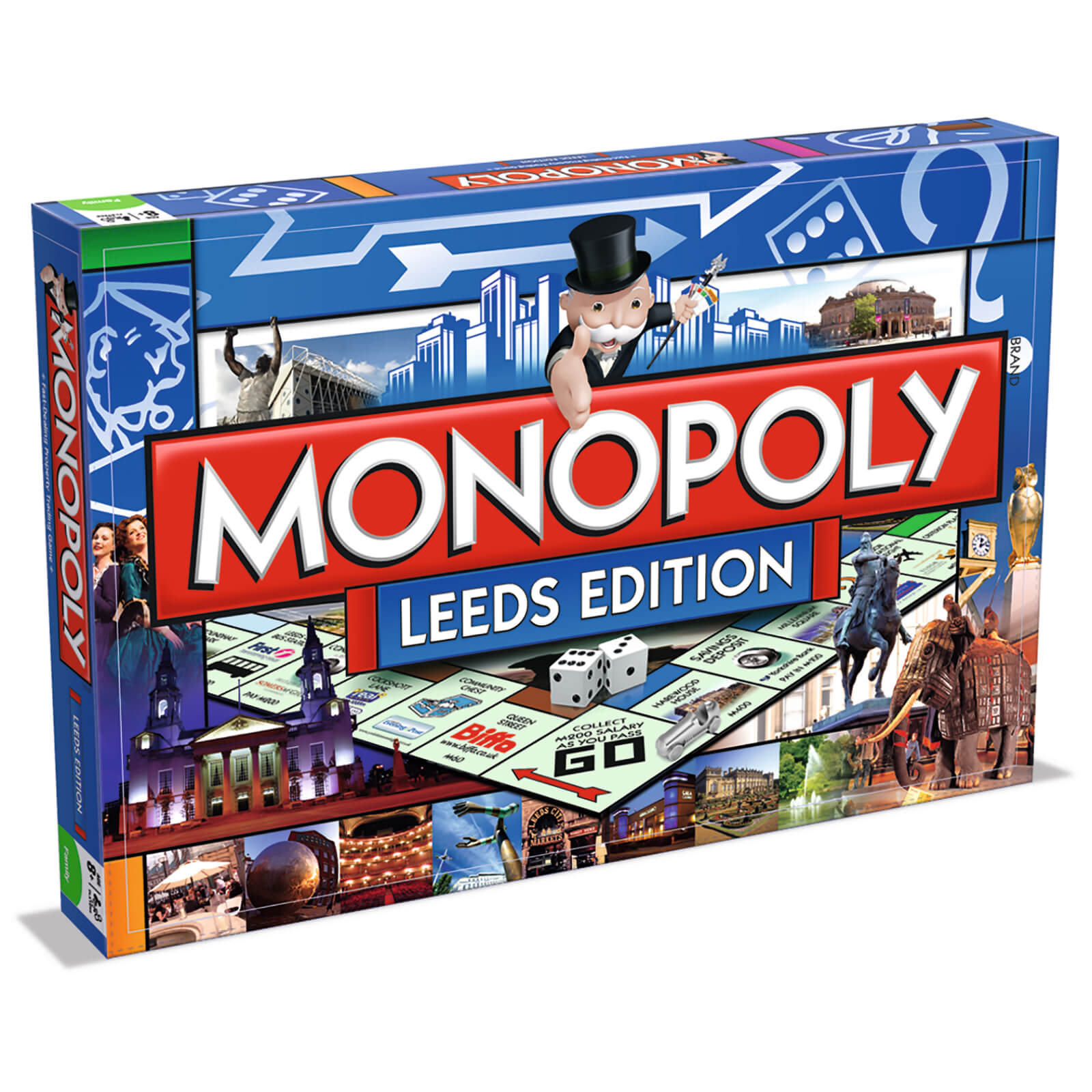 Image of Monopoly Board Game - Leeds Edition