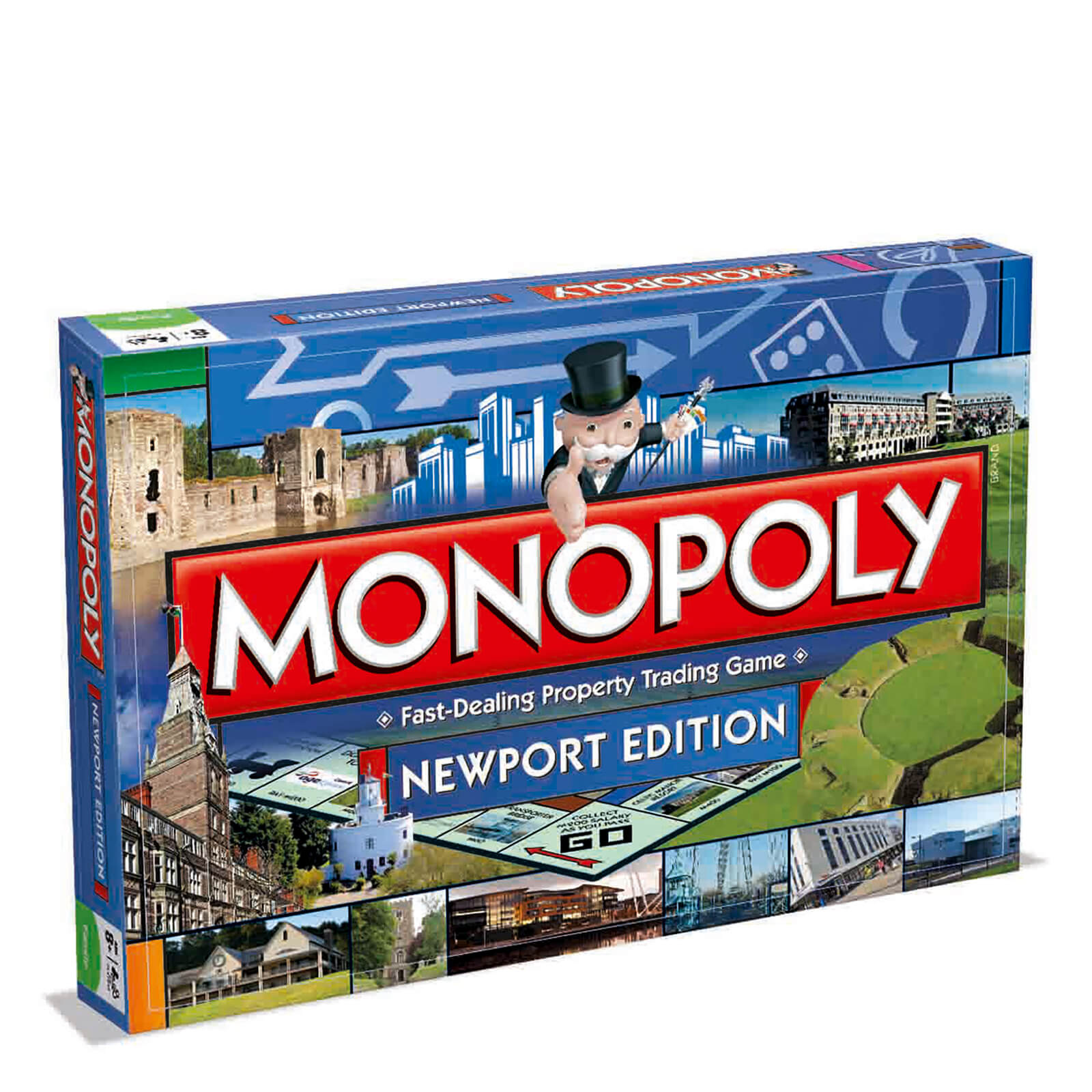 Image of Monopoly Board Game - Newport Edition