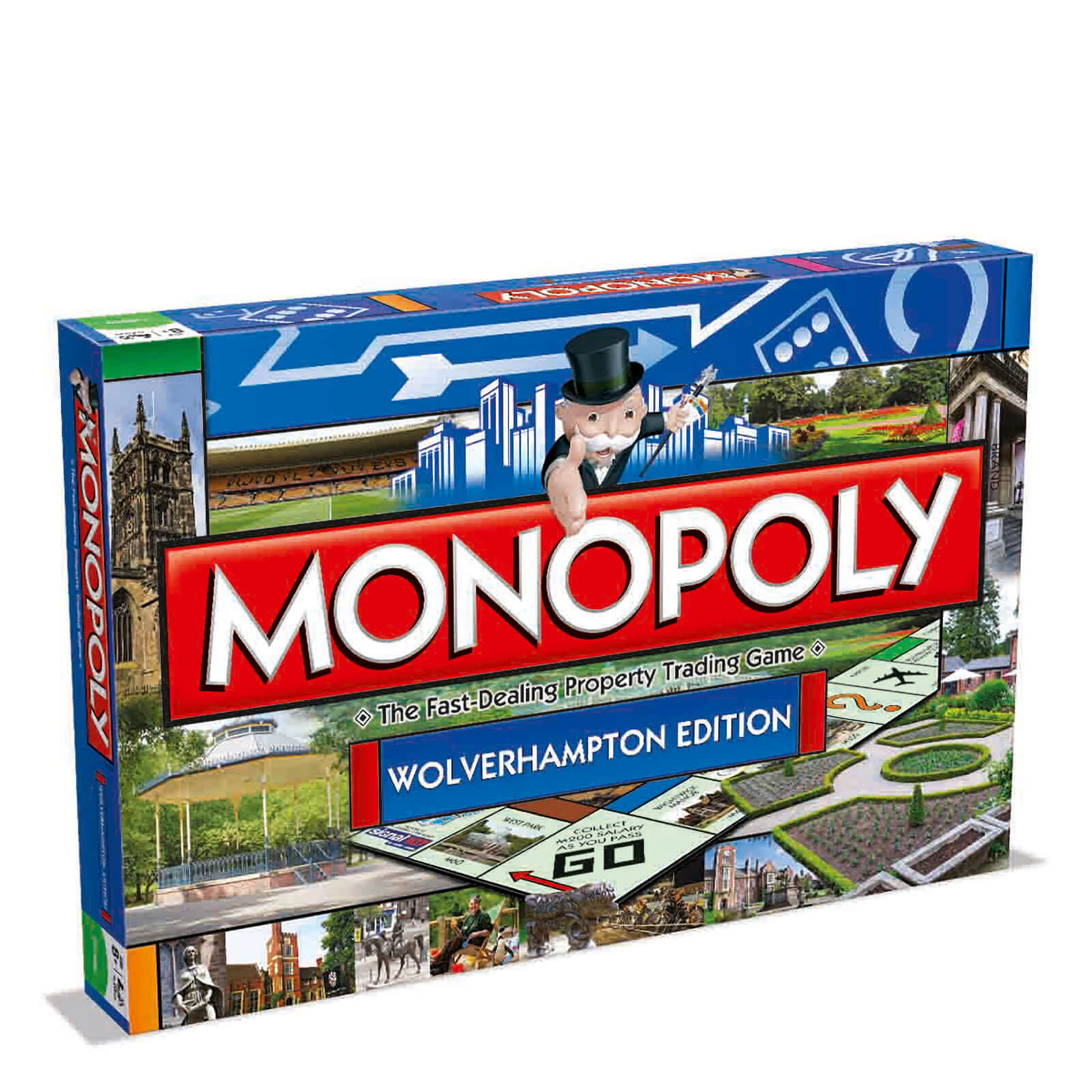Image of Monopoly Board Game - Wolverhampton Edition