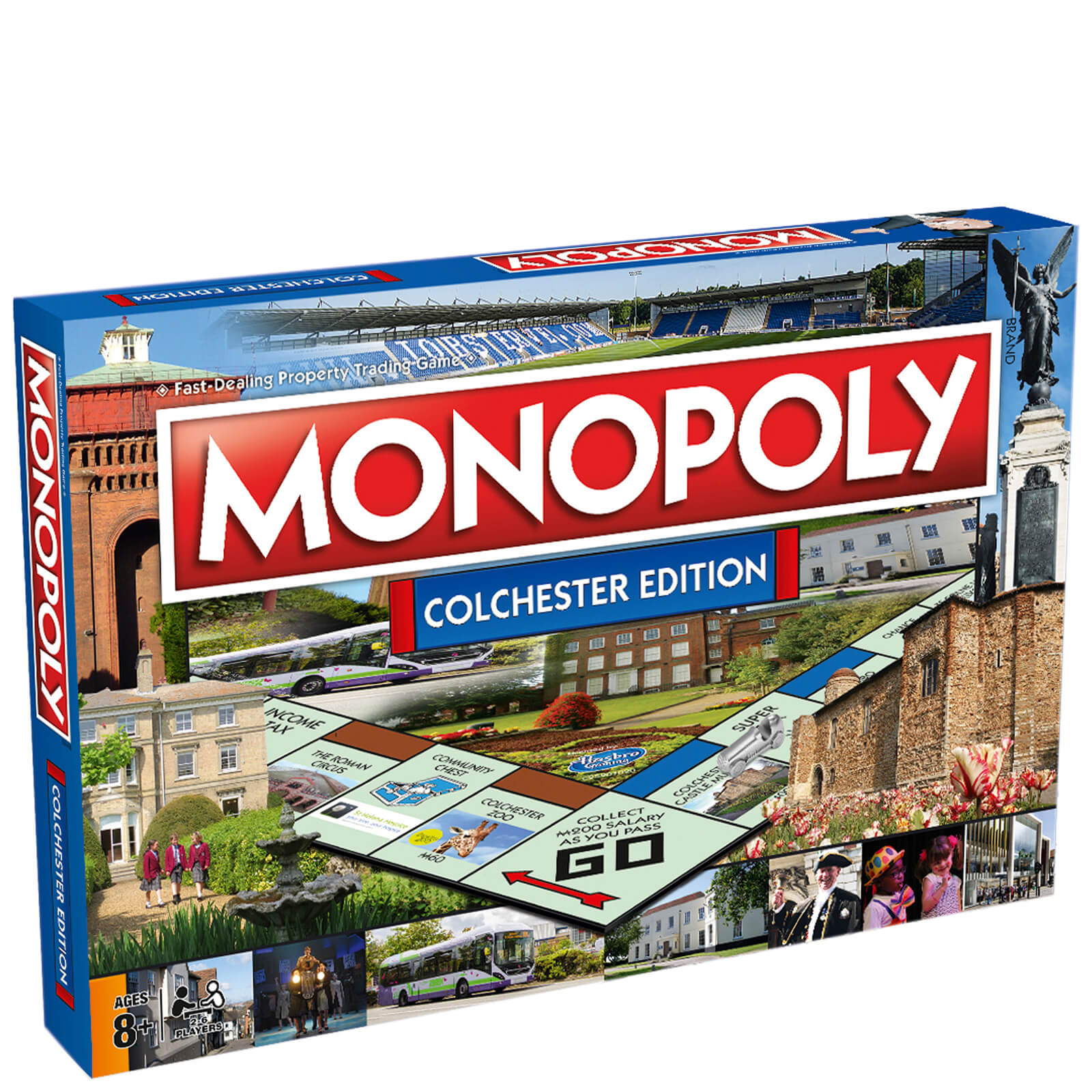 Image of Monopoly Board Game - Colchester Edition