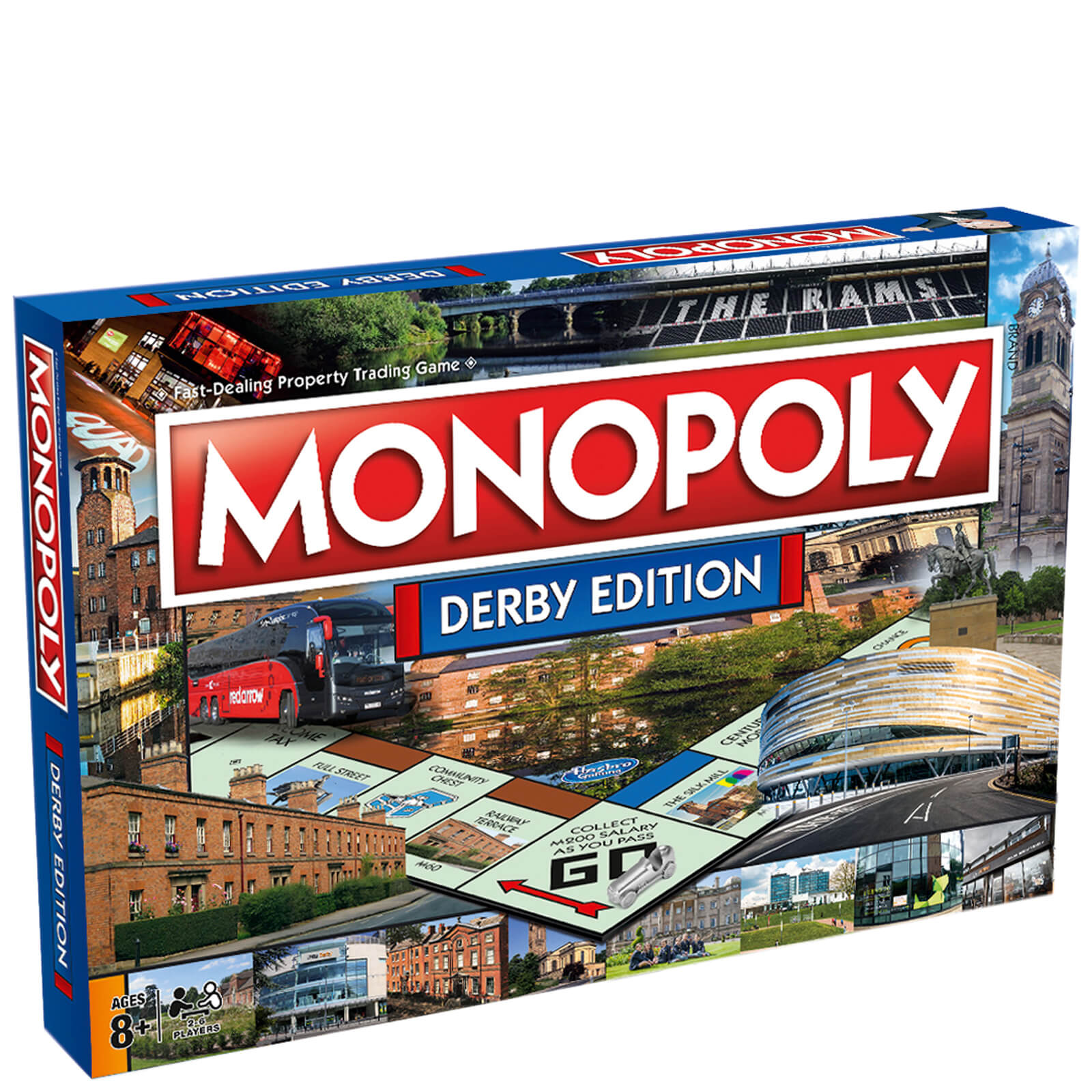 Image of Monopoly Board Game - Derby Edition