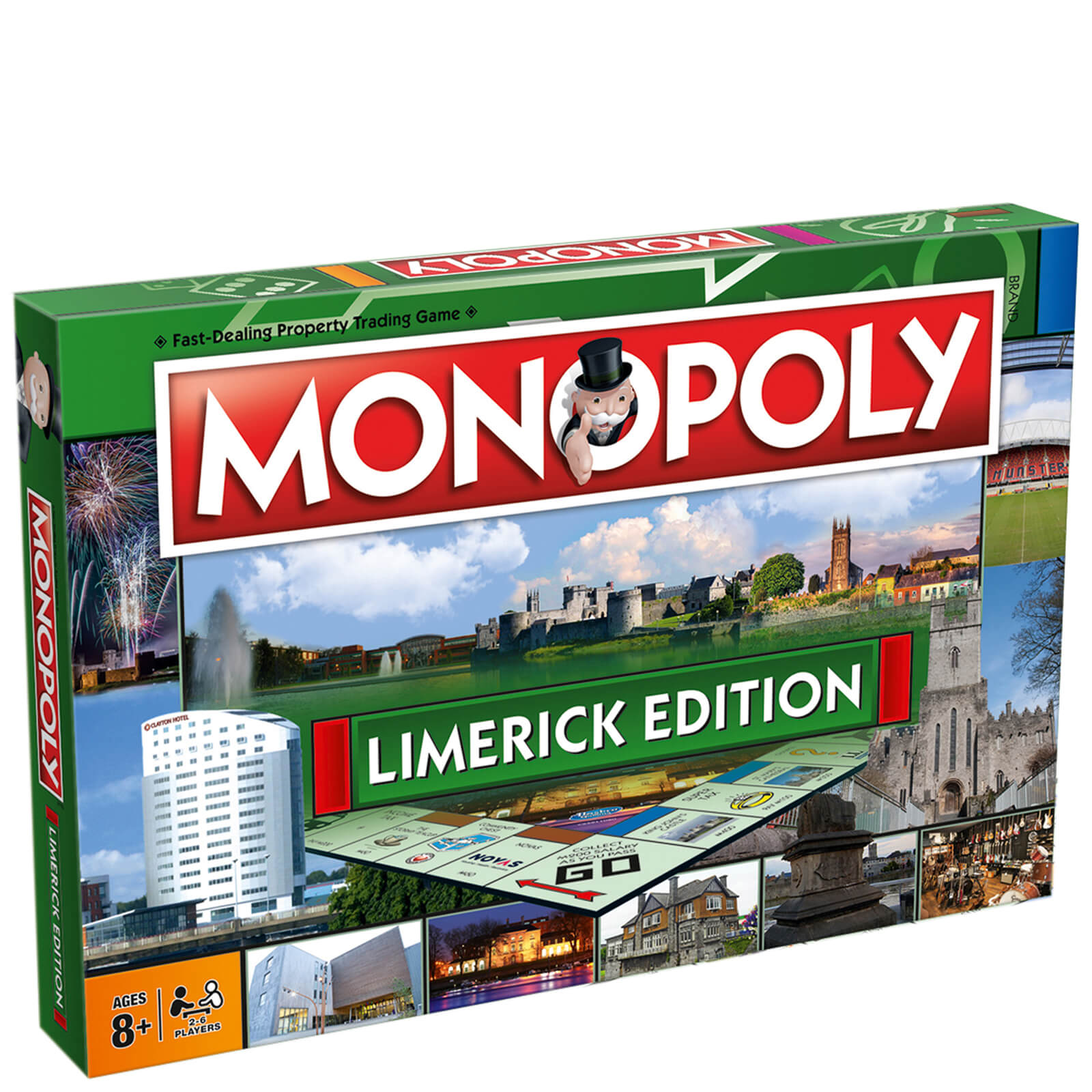 Image of Monopoly Board Game - Limerick Edition