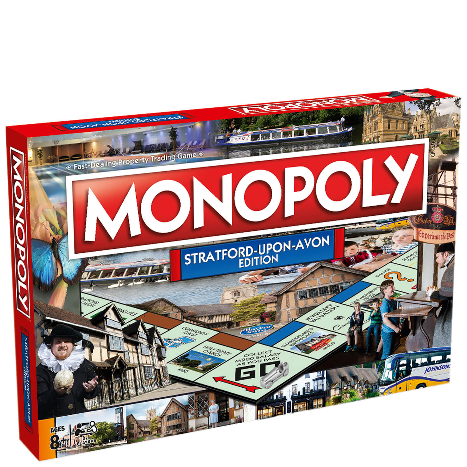 Image of Monopoly Board Game - Stratford Edition