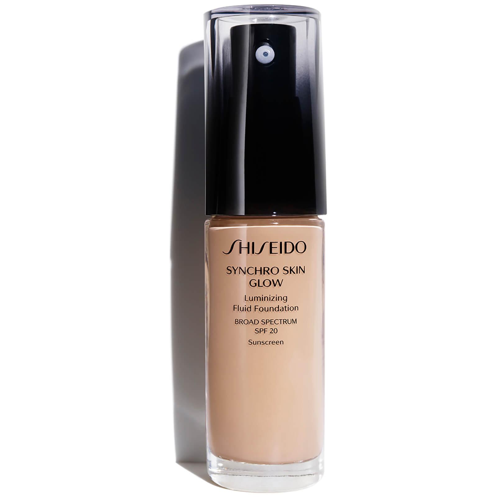 Shiseido Synchro Skin Glow Luminizing Foundation 30ml (Various Shades) - Rose 3